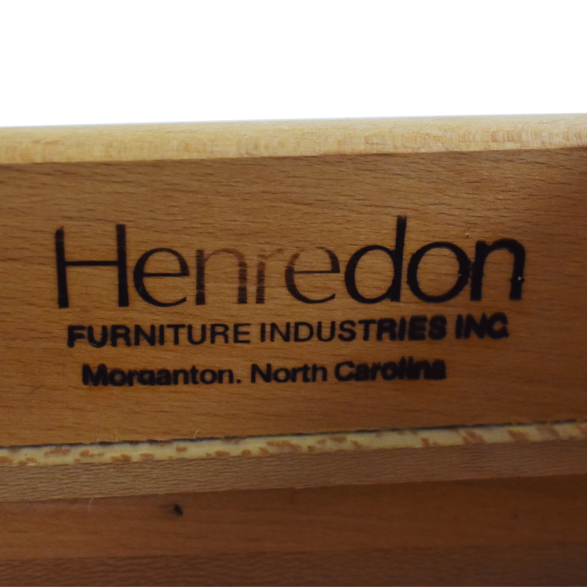 Henredon Furniture Henredon Art Deco Style Dresser and Mirror used