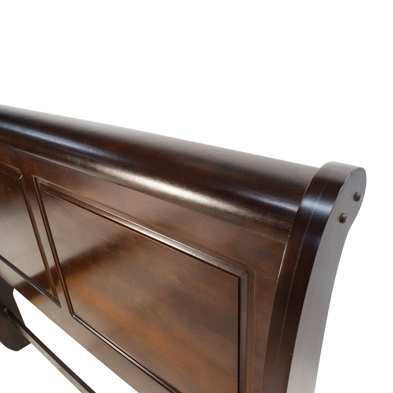 ... Raymour and Flanigan Raymour & Flanigan Charleston Queen Sleigh Bed for  sale