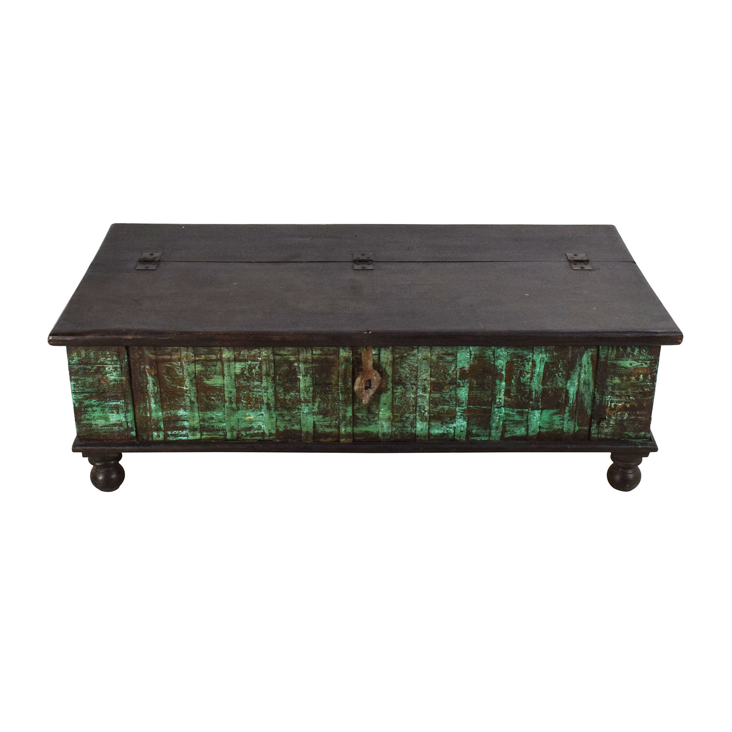 buy Nadeau Nadeau Distressed Coffee Table with Storage online