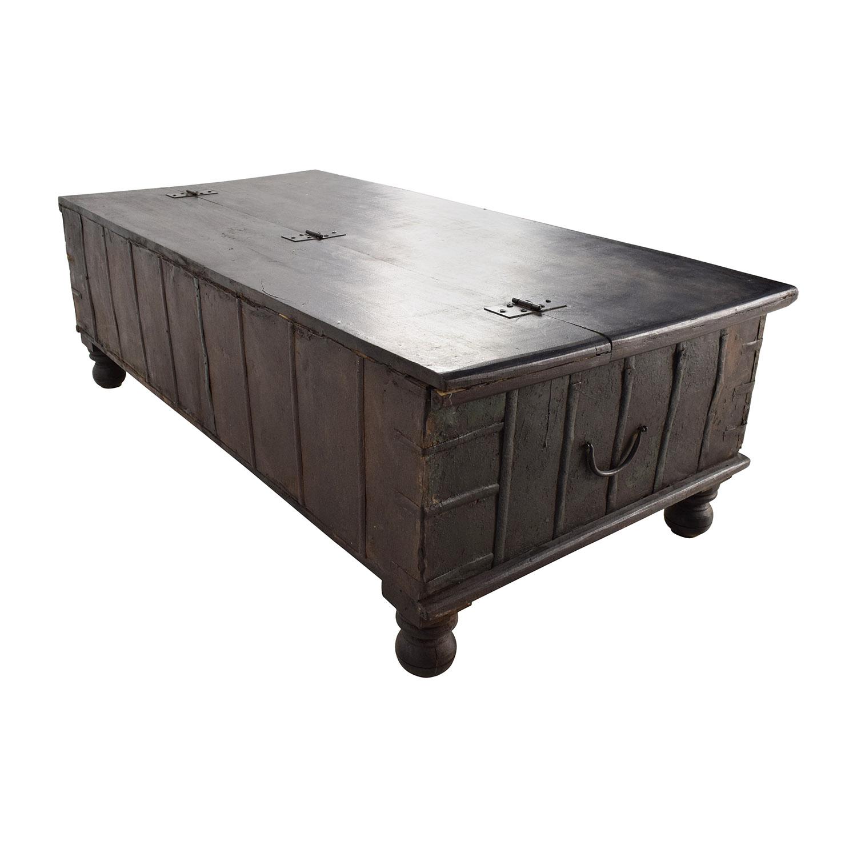 Nadeau Nadeau Distressed Coffee Table with Storage