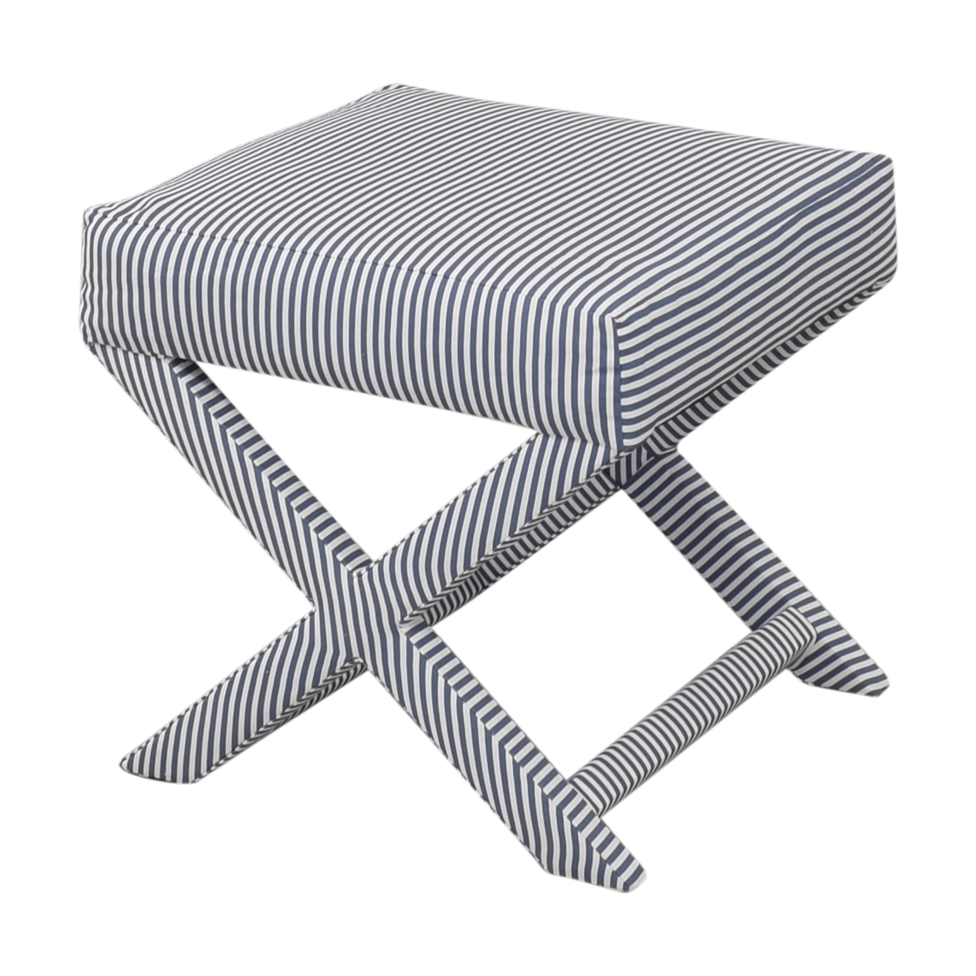 The Inside The inside Ticking Stripe X Bench for sale