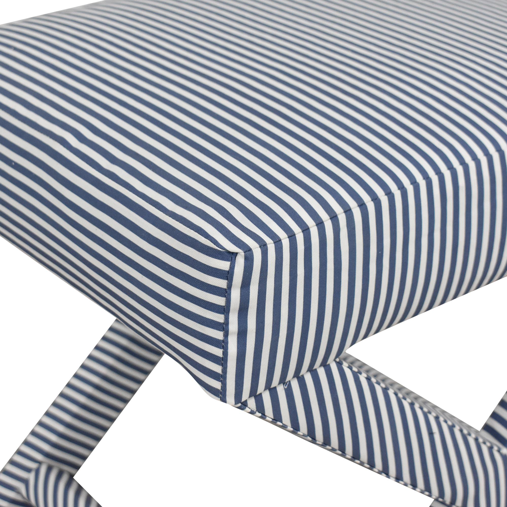shop The Inside The inside Ticking Stripe X Bench online