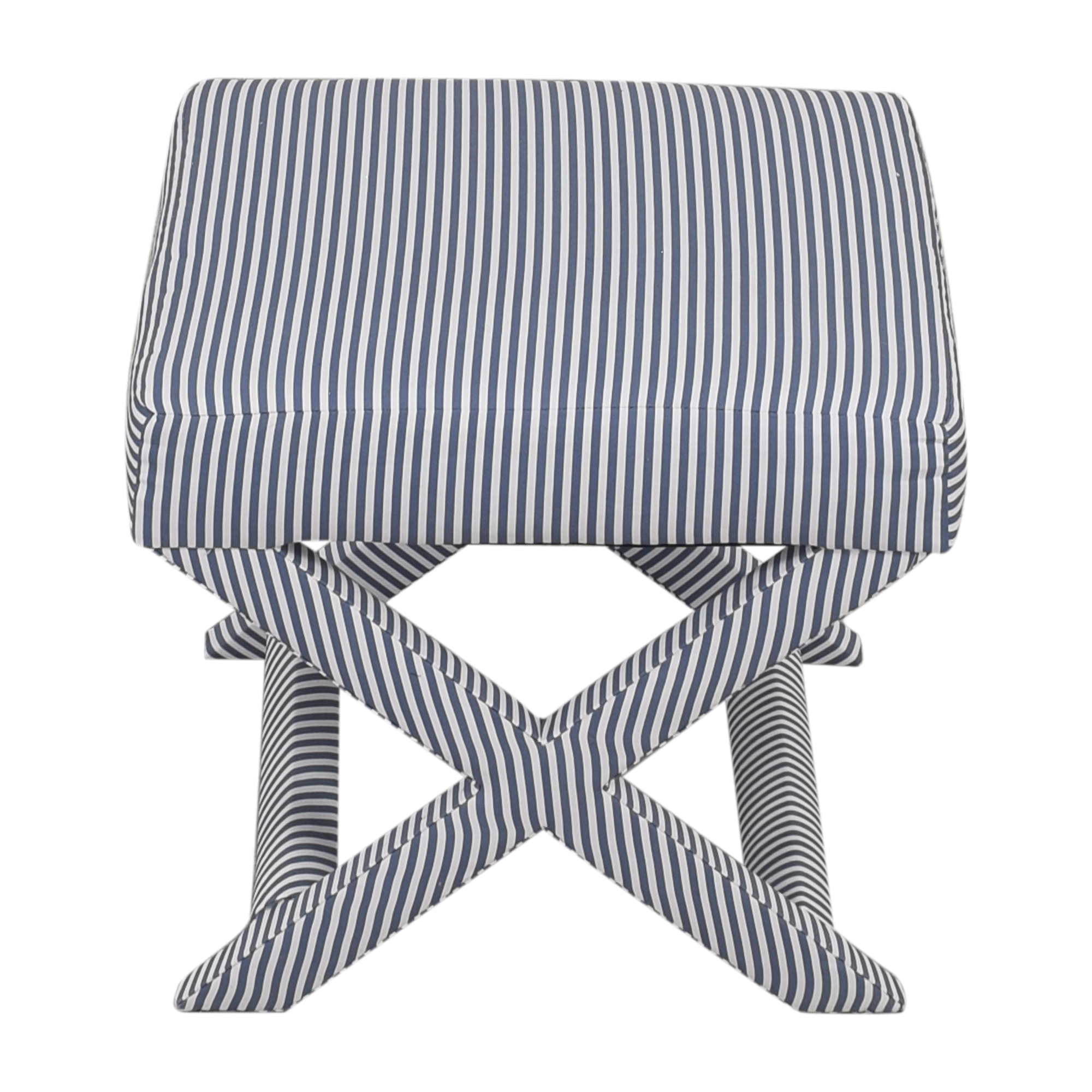 The inside Ticking Stripe X Bench / Chairs