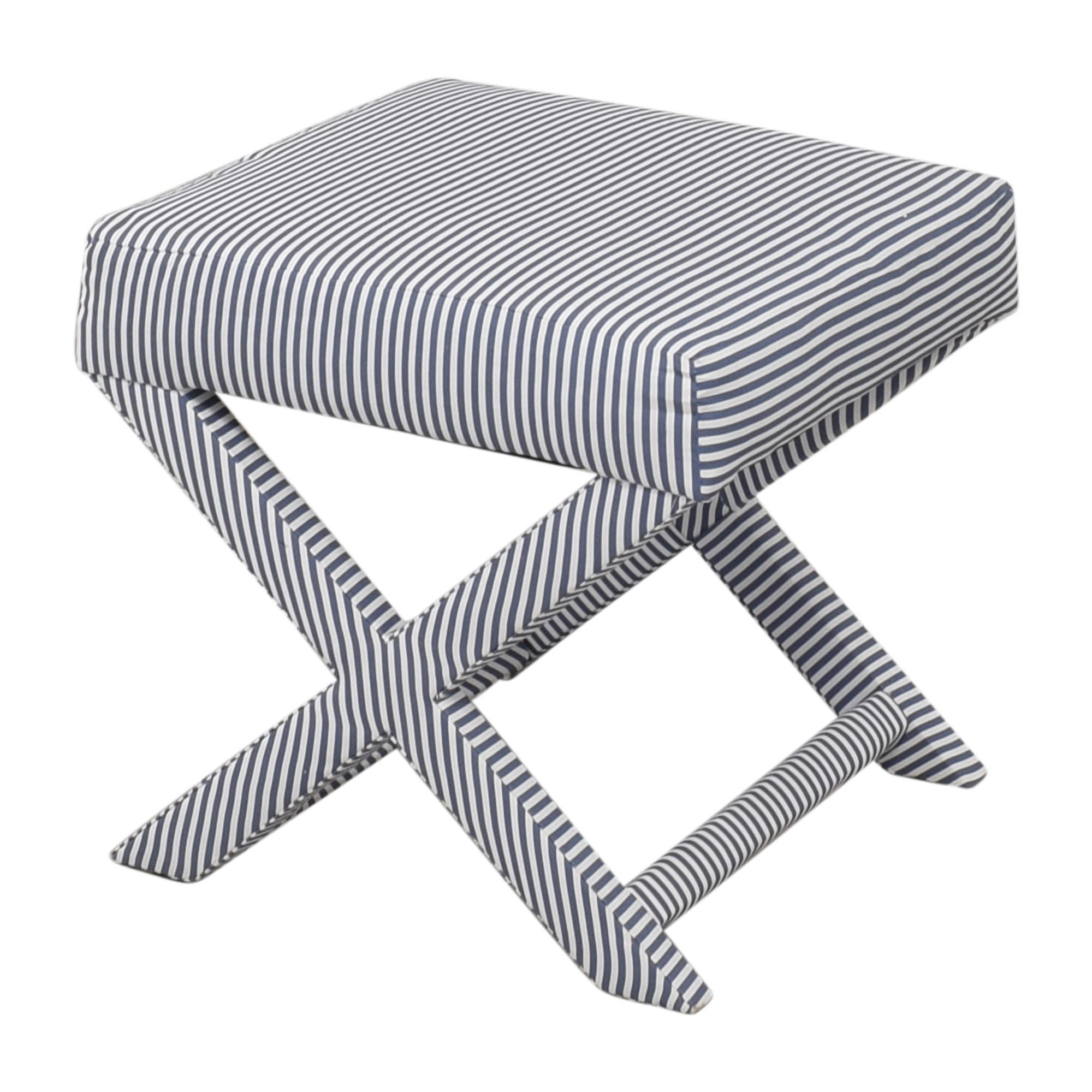 The Inside The inside Ticking Stripe X Bench discount