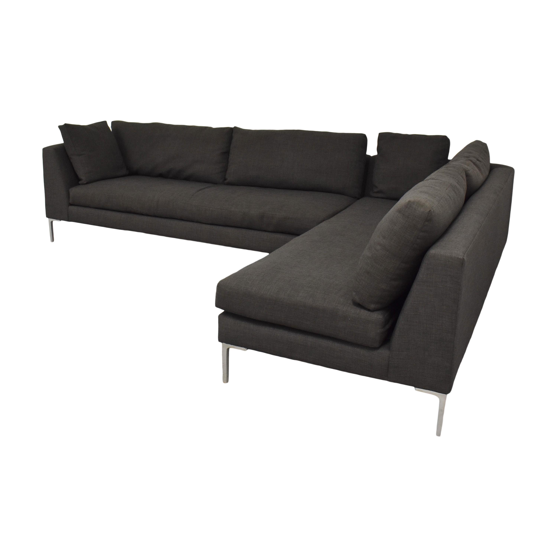 ABC Carpet & Home Cobble Hill Sectional Sofa sale