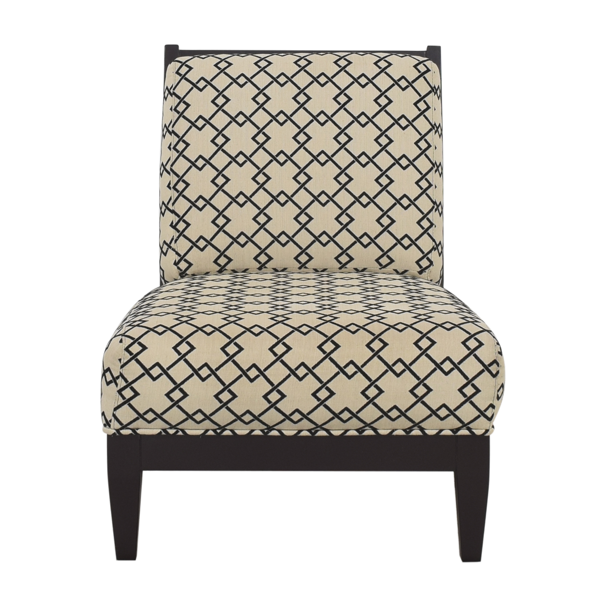 Raymour & Flanigan Raymour & Flanigan Sophie Armless Accent Chair dimensions