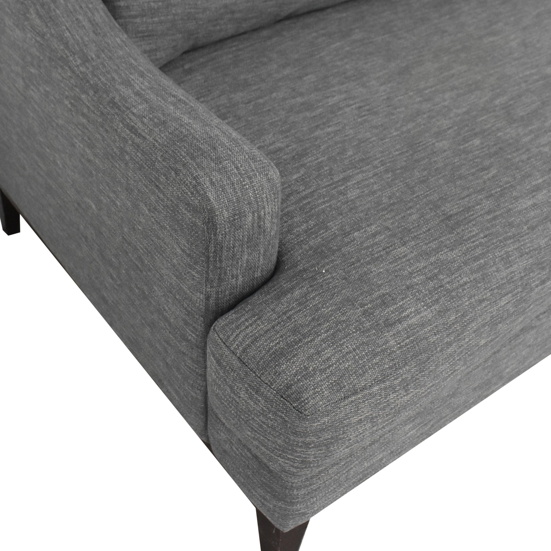 shop Joybird Price Two Cushion Sofa Joybird