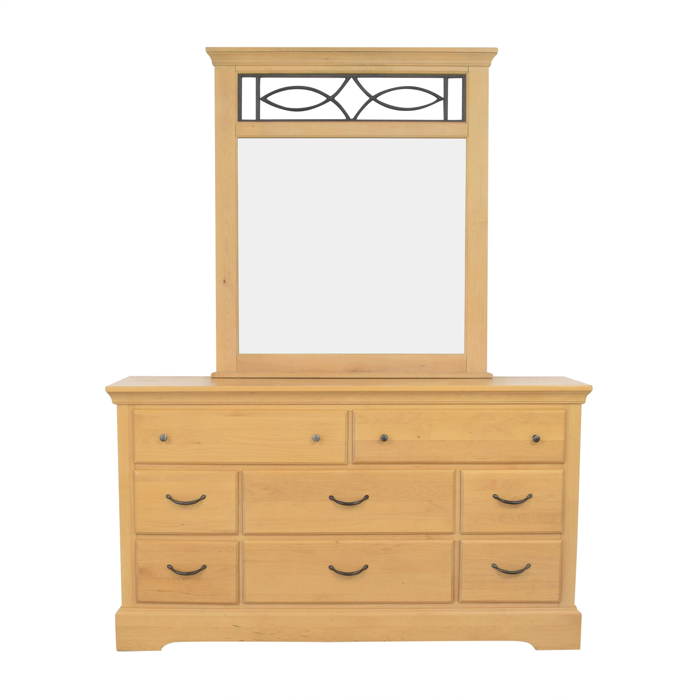 buy Samuel Lawrence Dresser and Mirror Samuel Lawrence Storage
