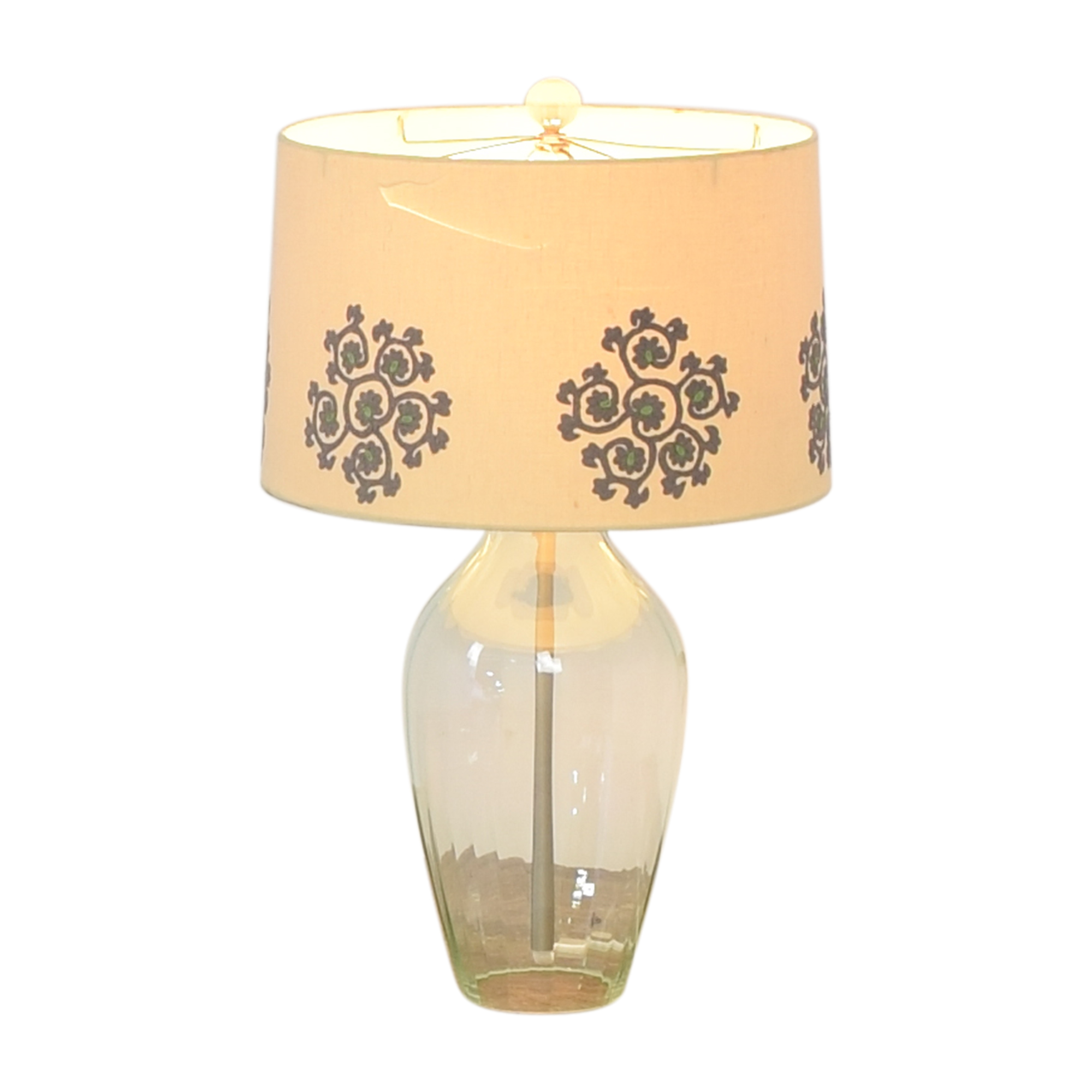 IKEA Table Lamp with Embroidered Shade IKEA