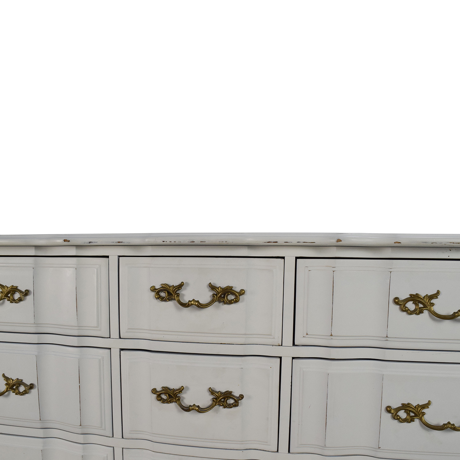 Antique Style White Dresser used