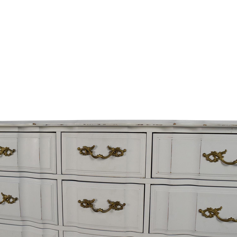 Antique Style White Dresser Dressers