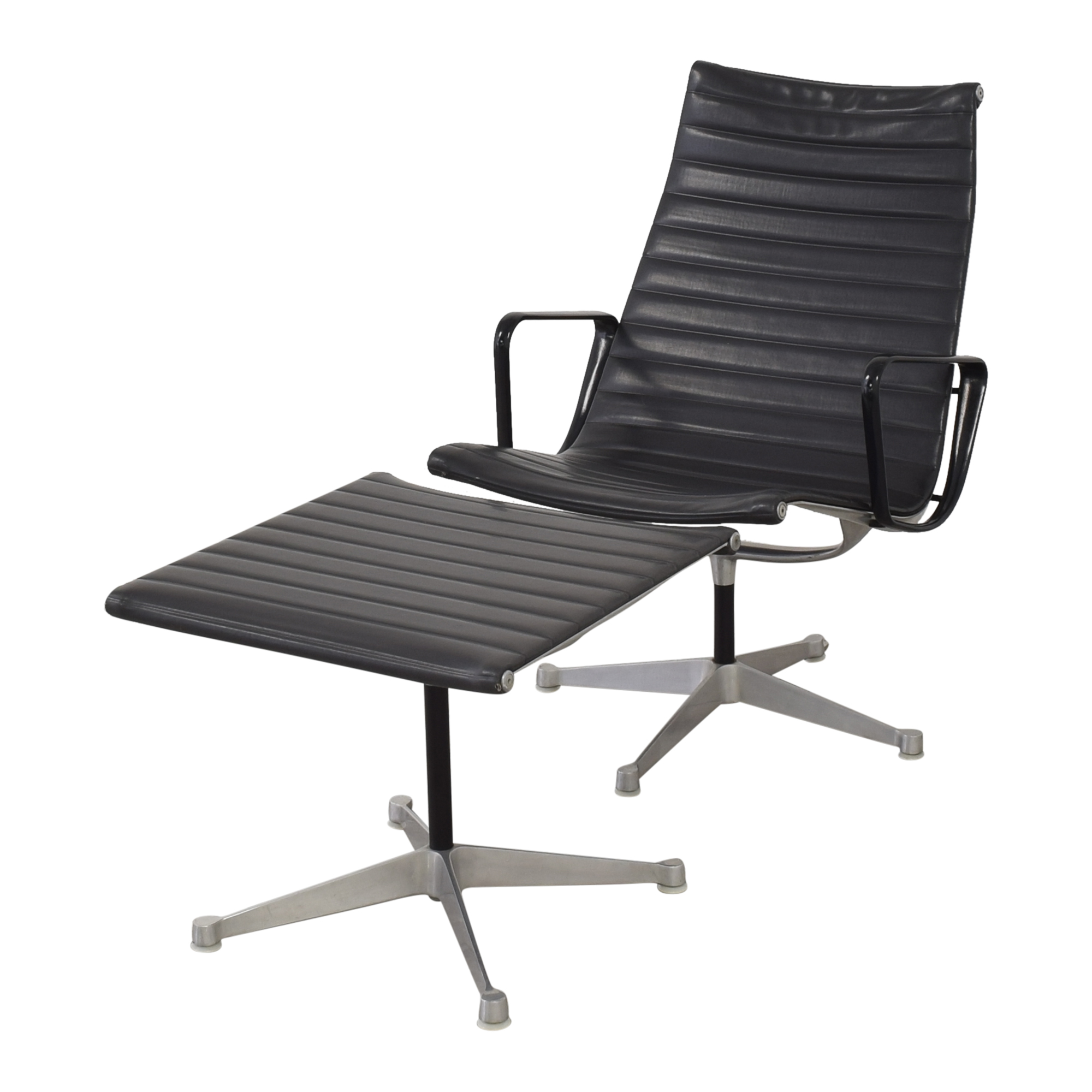 Herman Miller Eames Aluminum Group Lounge with Ottoman / Accent Chairs