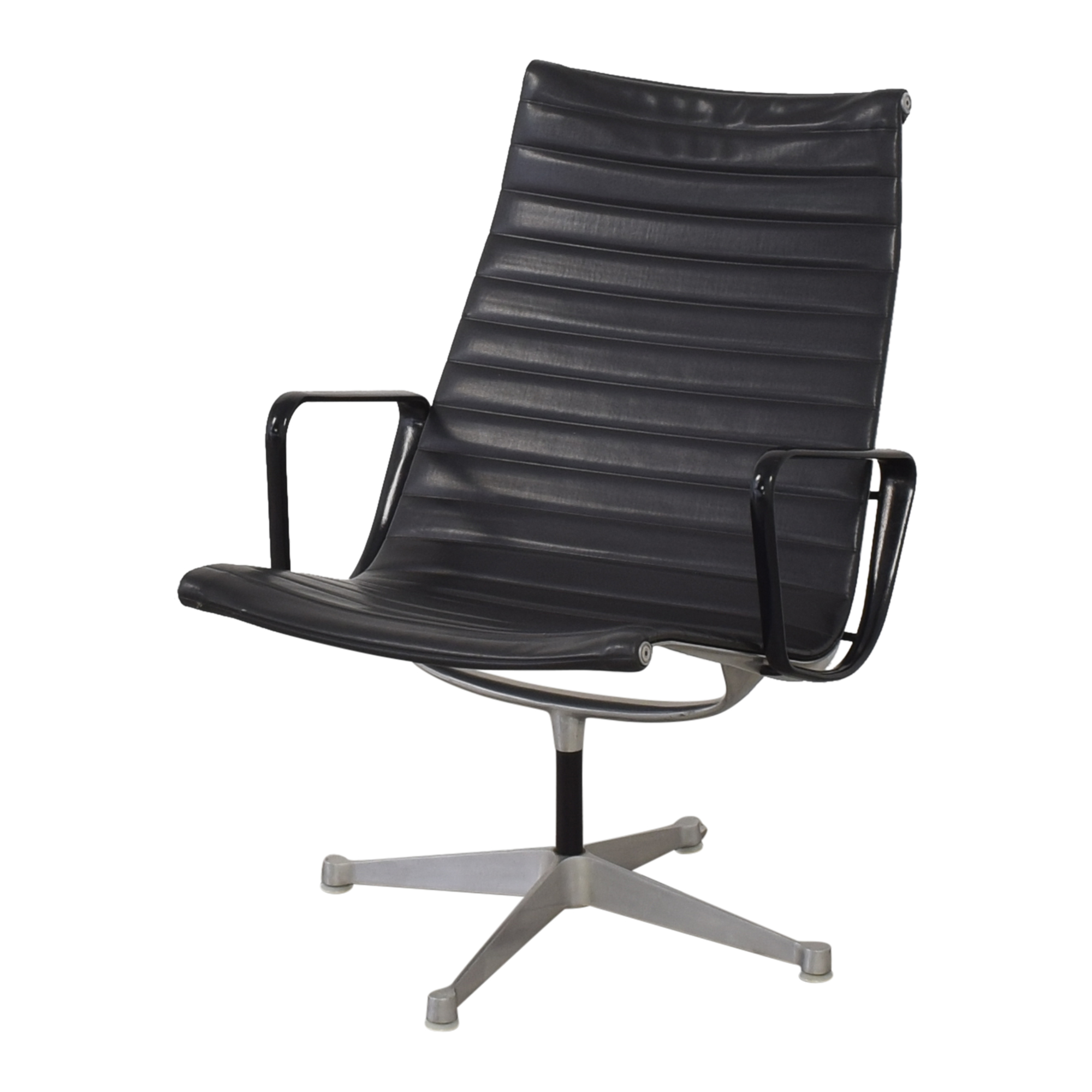 shop Herman Miller Eames Aluminum Group Lounge with Ottoman Herman Miller Accent Chairs
