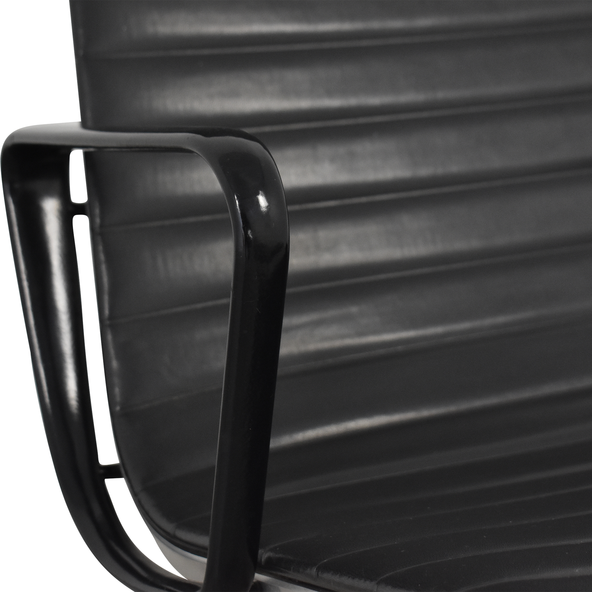 Herman Miller Herman Miller Eames Aluminum Group Lounge with Ottoman pa