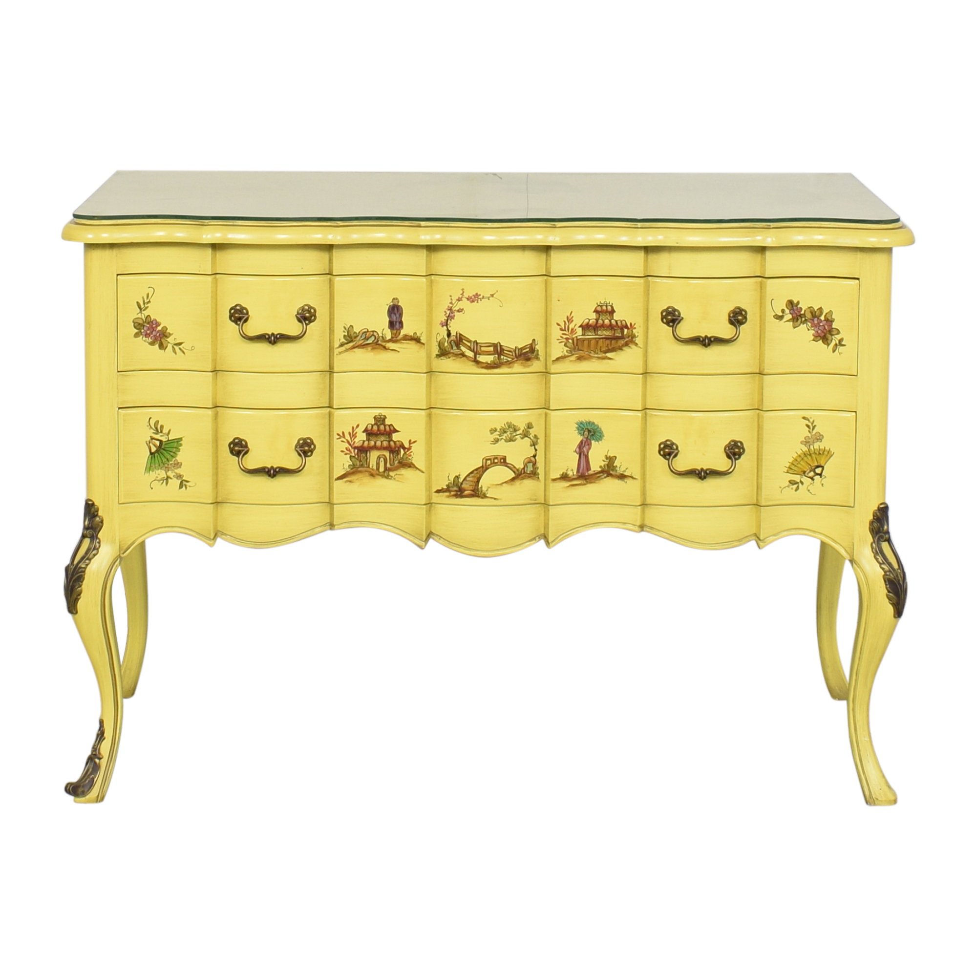 Handpainted Sideboard Cabinet sale