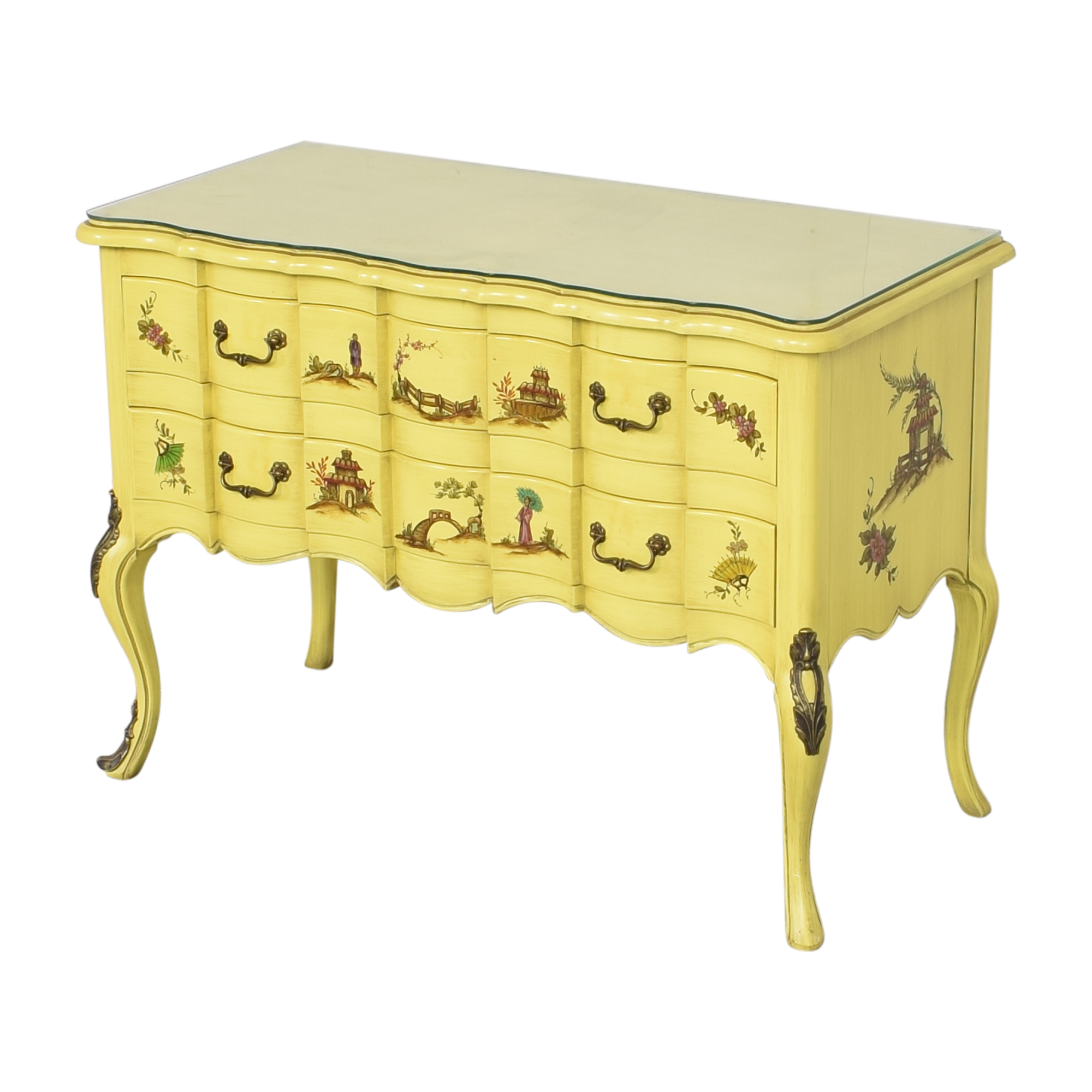 Handpainted Sideboard Cabinet