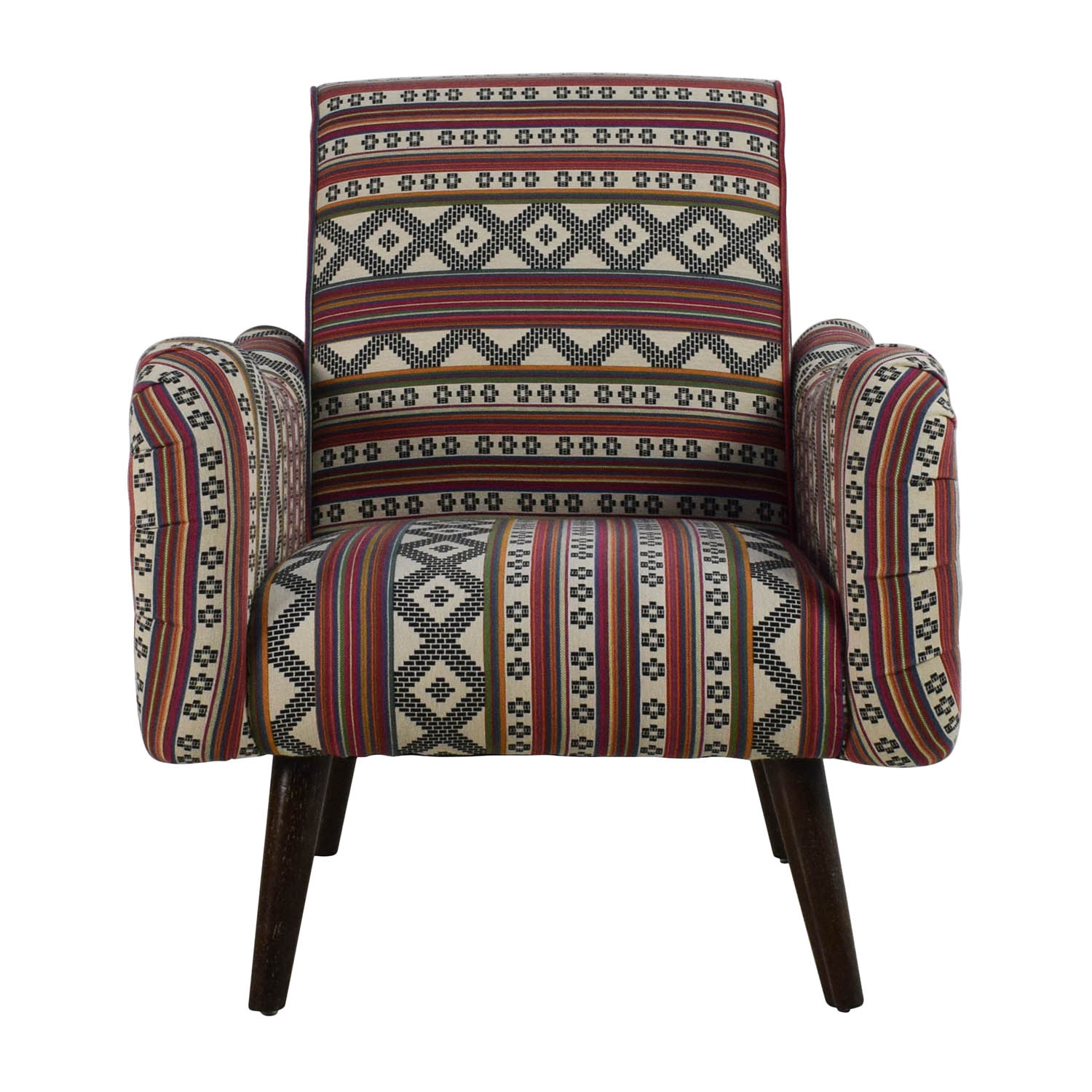 shop Aztec Pattern Accent Armchair