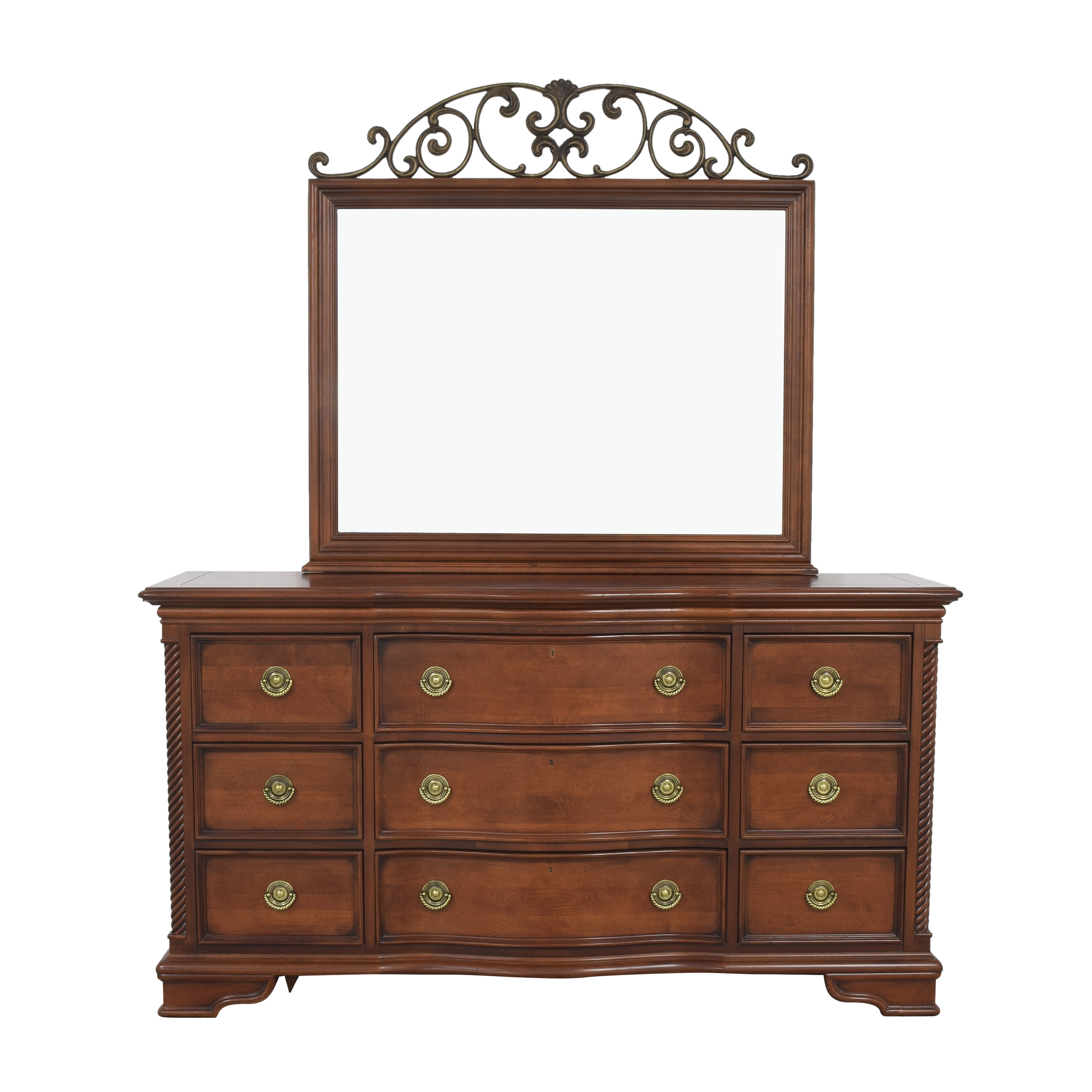 shop Stanley Furniture Stanley Country House Triple Dresser and Mirror online