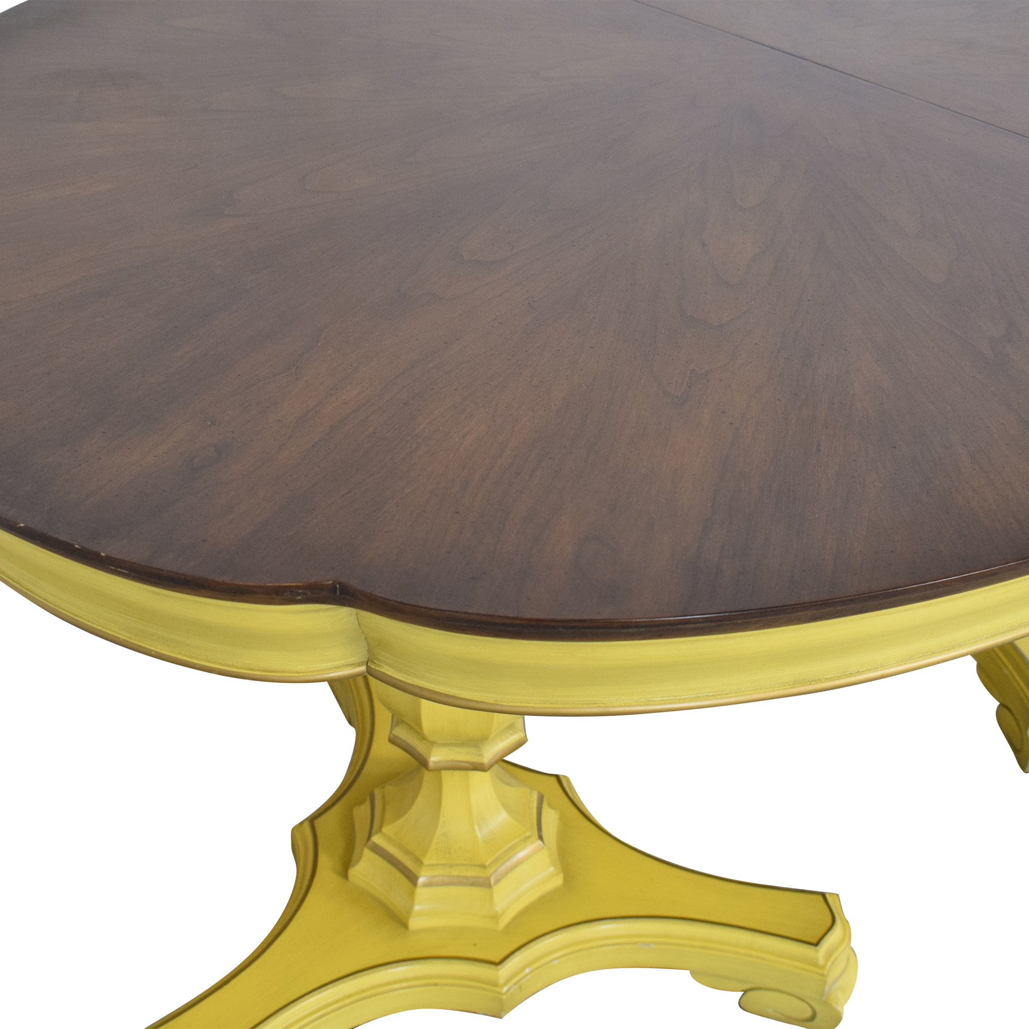 Union National Union National Double Pedestal Extending Dining Table Dinner Tables