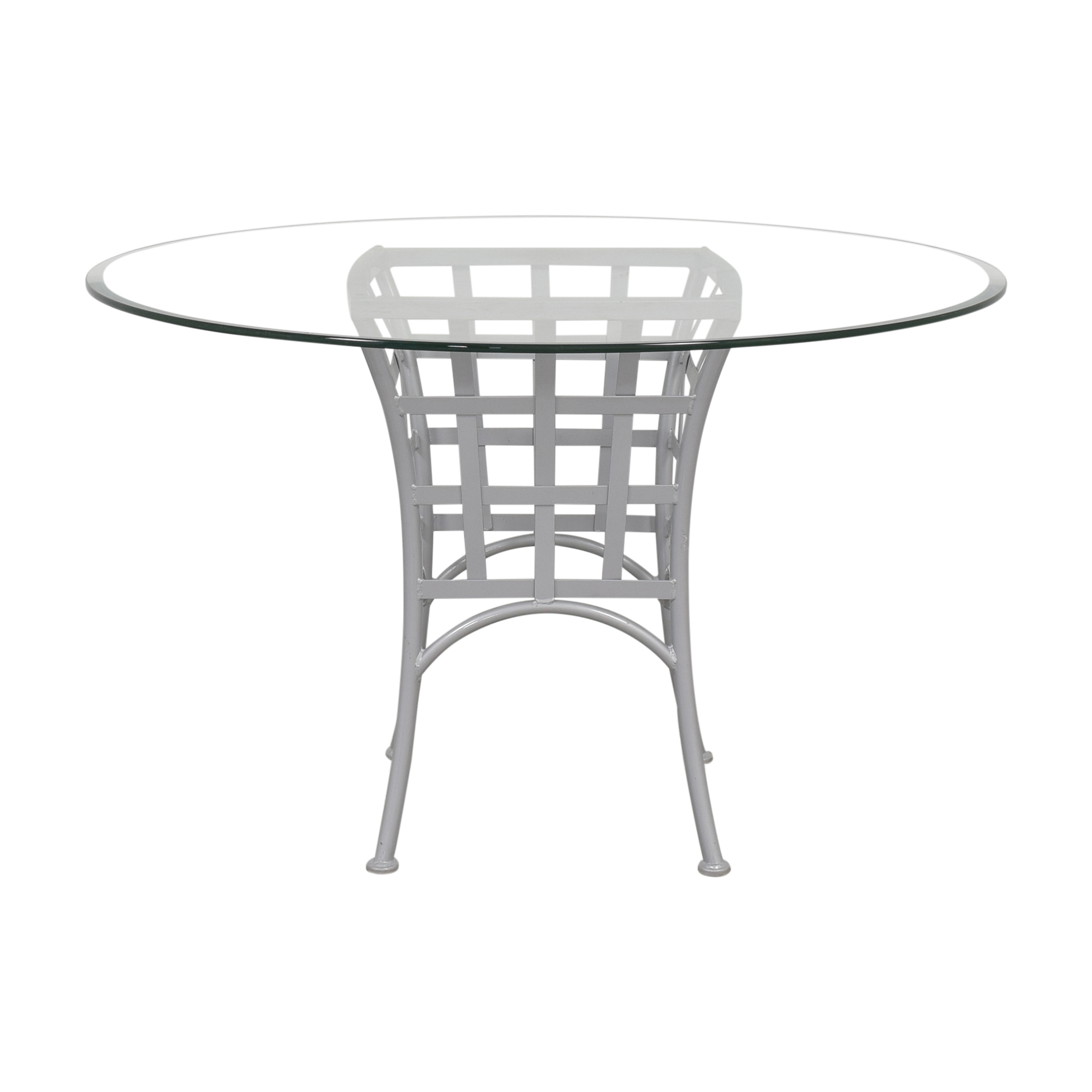 Johnston Casuals Lattice Base Table Johnston Casuals