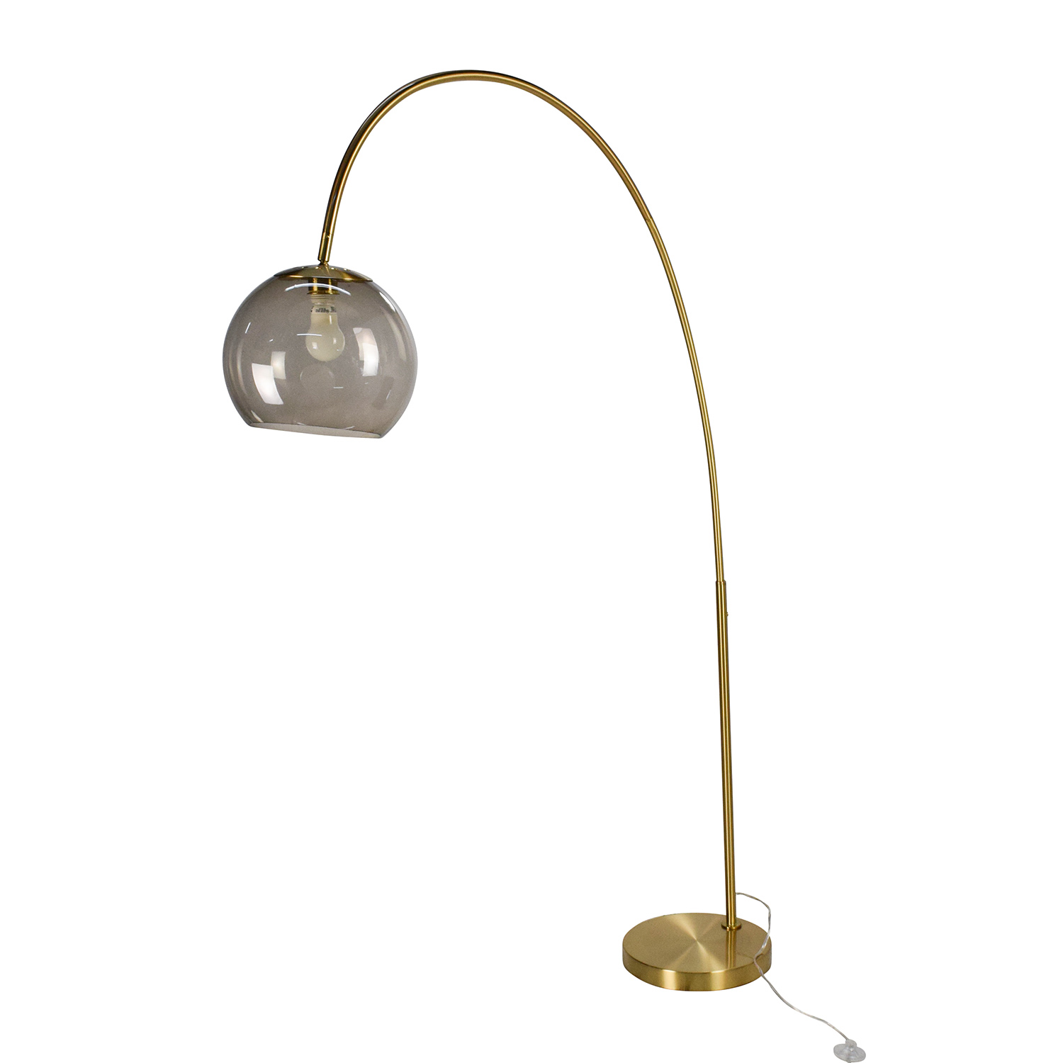 buy Arc Floor Lamp in Gold  Decor