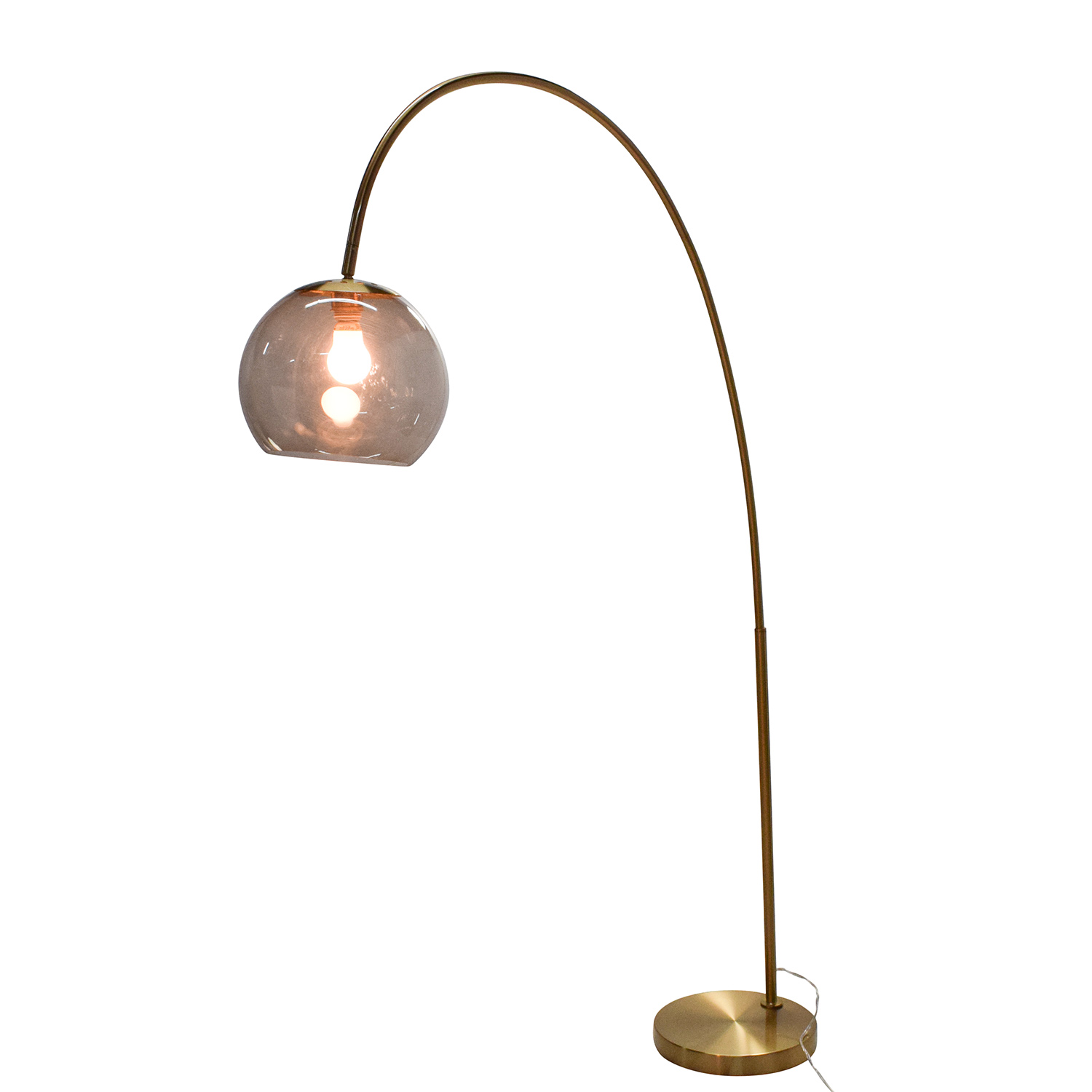 Arc Floor Lamp in Gold nyc