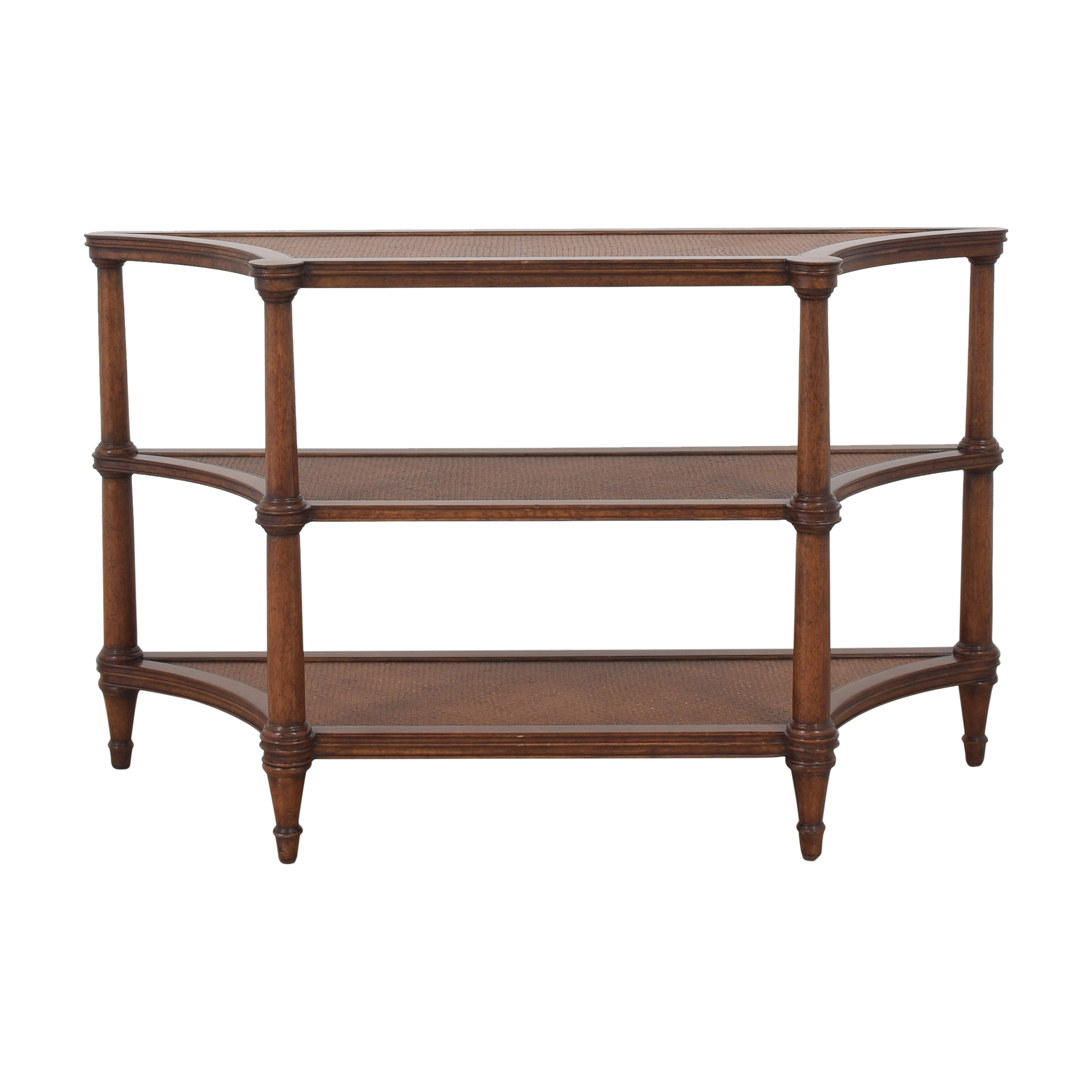 buy Ethan Allen Three Shelf Sideboard Ethan Allen Storage