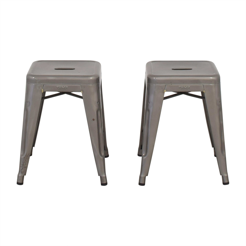 shop Tolix Tabouret H Stools Tolix Chairs