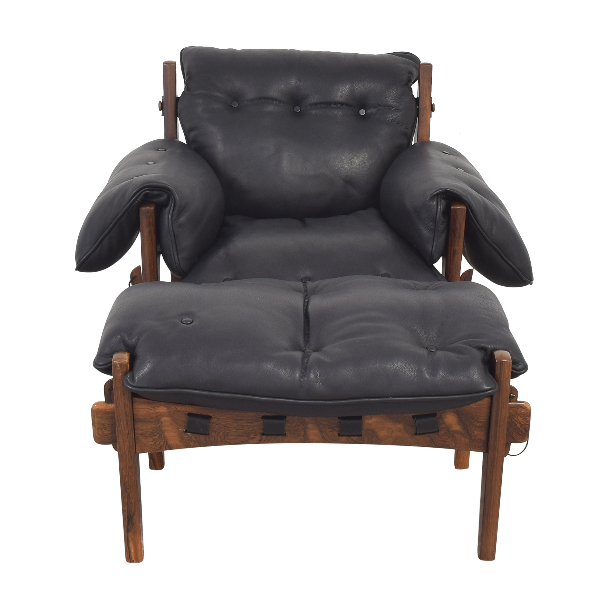 buy Sergio Rodrigues Mischievous Chair and Ottoman Sergio Rodrigues Accent Chairs