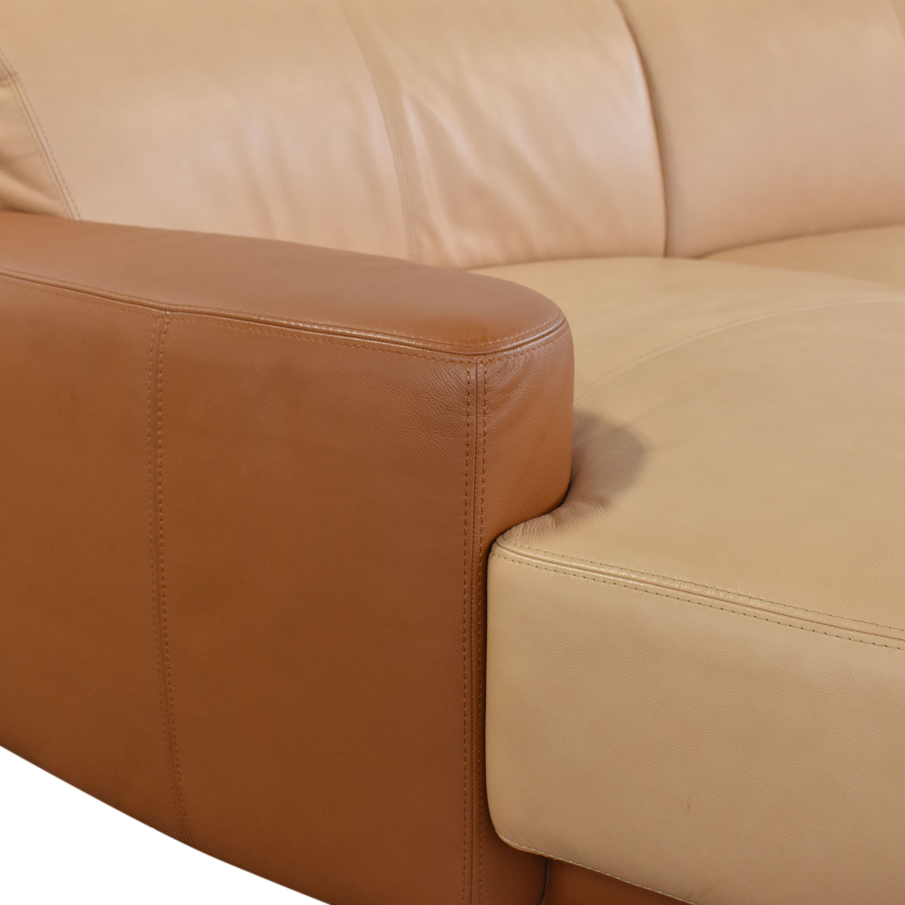 W. Schillig Amber Curved Sectional Sofa / Sofas