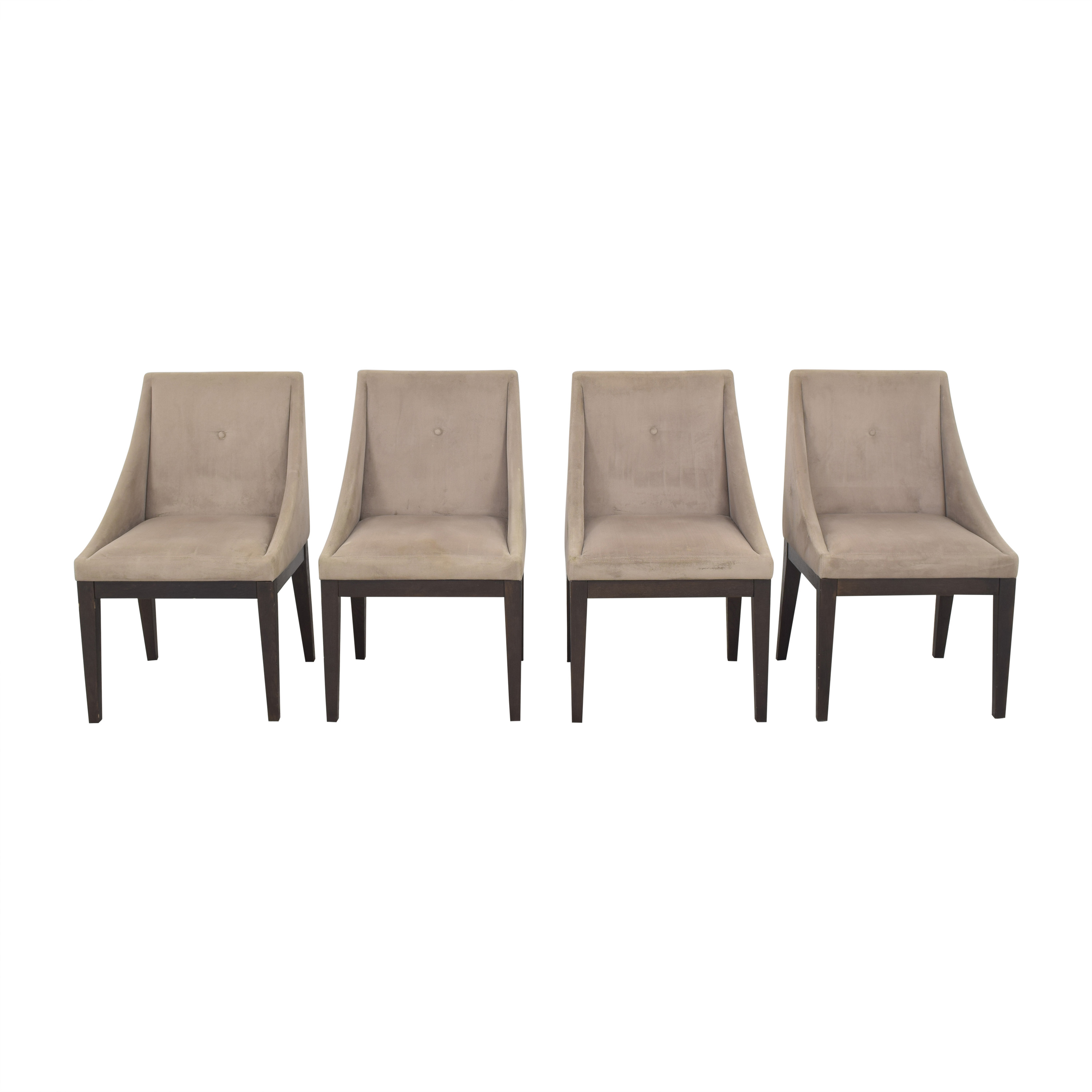 West Elm West Elm Upholstered Dining Chairs used