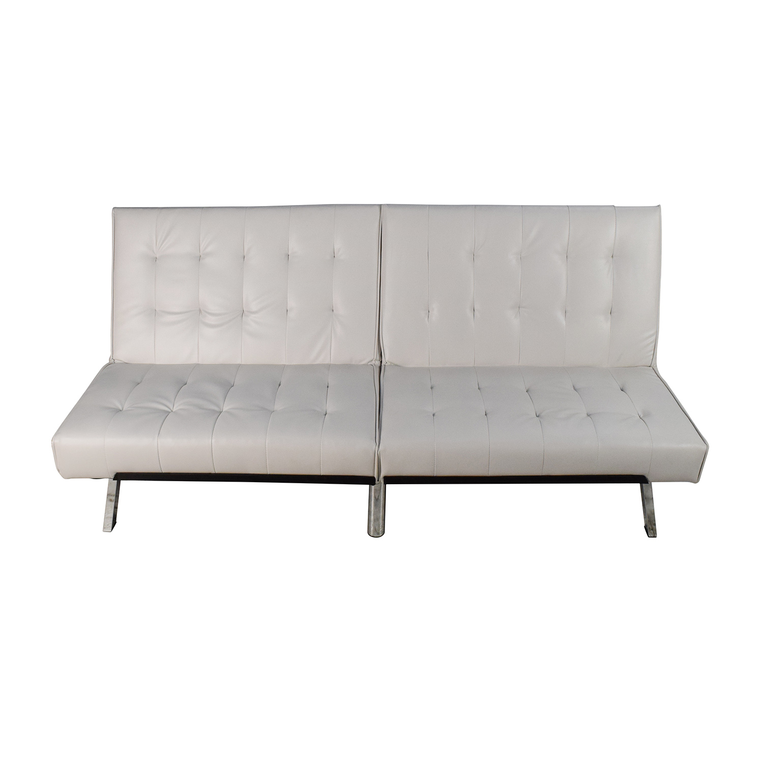 OFF DHP DHP Emily Convertible Faux Leather Futon Sofas