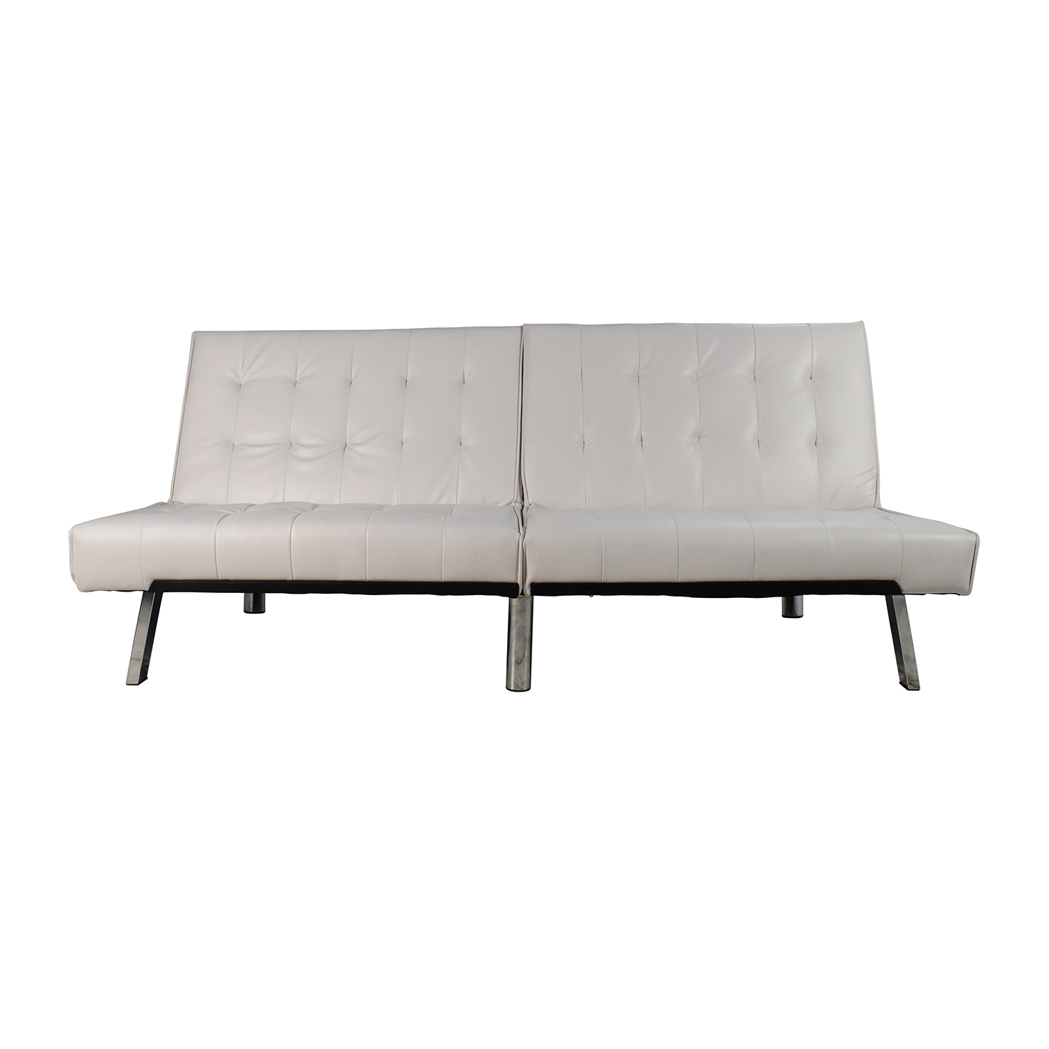 Dhp Emily Convertible Faux Leather Futon Second Hand