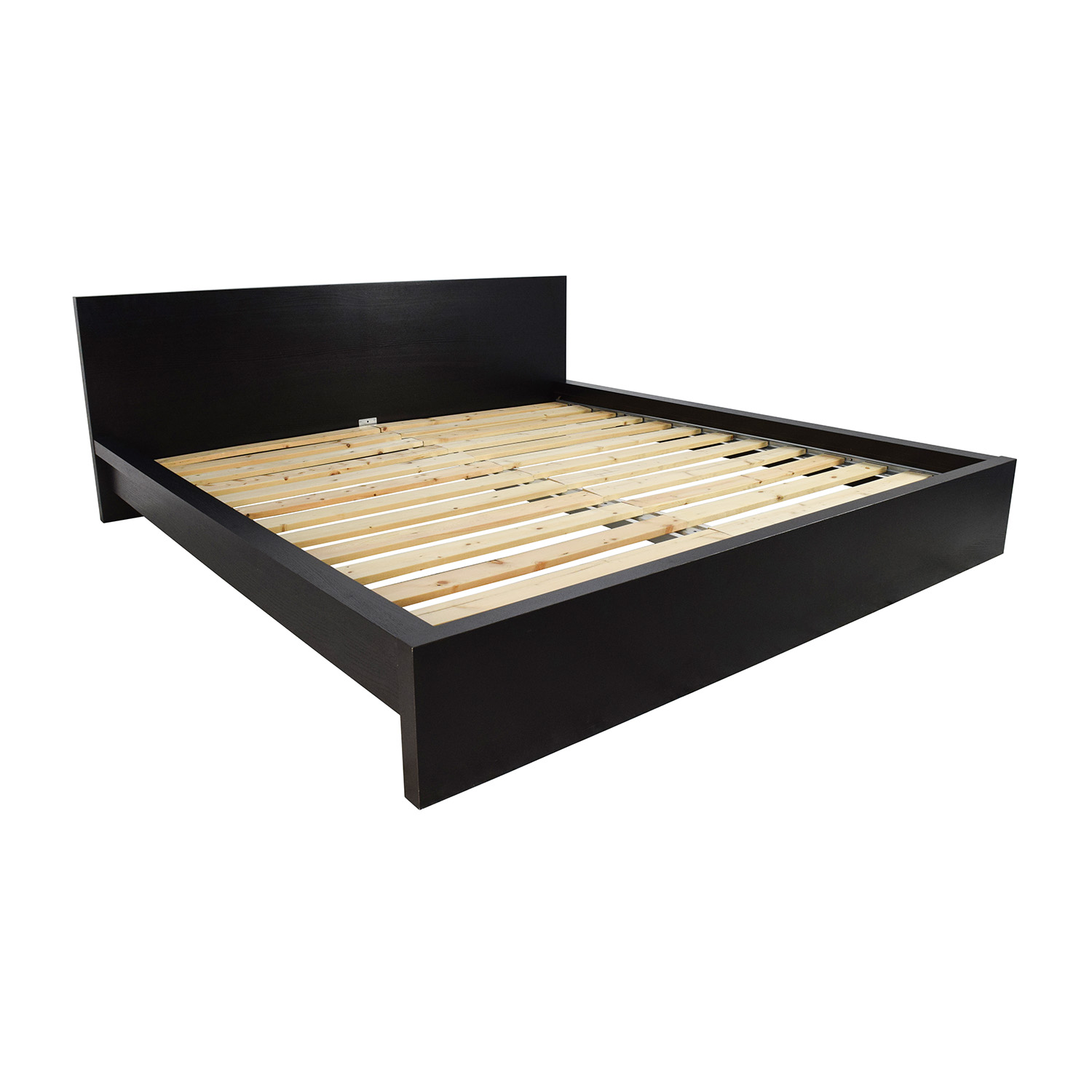 81 off ikea ikea malm king size bed beds for King size bed frame