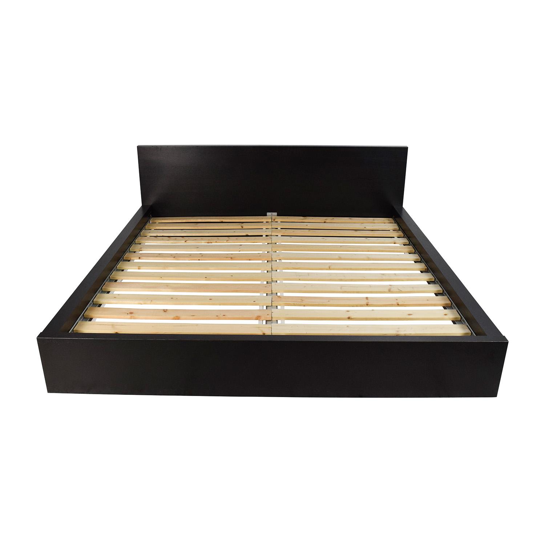 81 Off Ikea Ikea Malm King Size Bed Beds