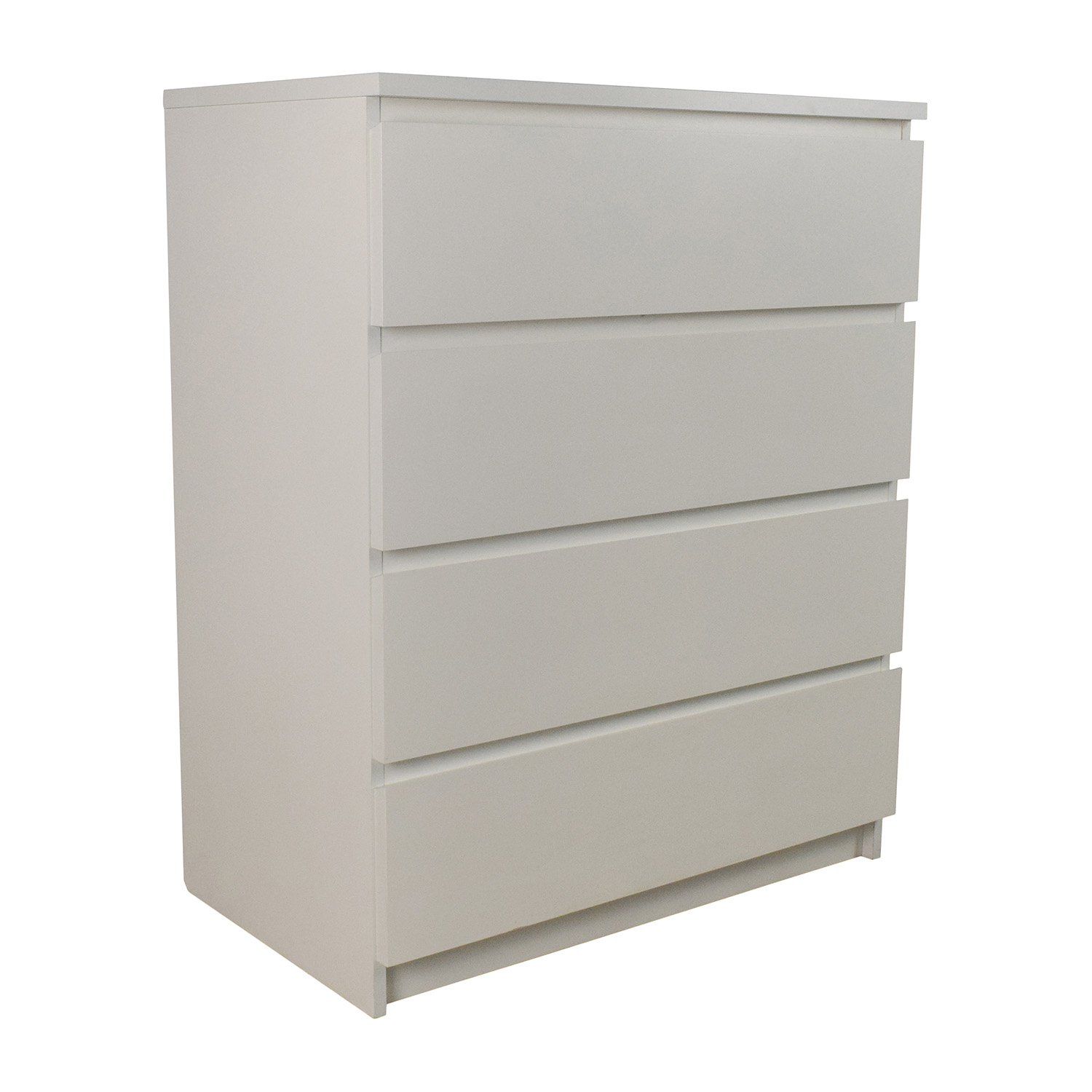32% OFF - IKEA IKEA MALM 4-Drawer Dresser / Storage