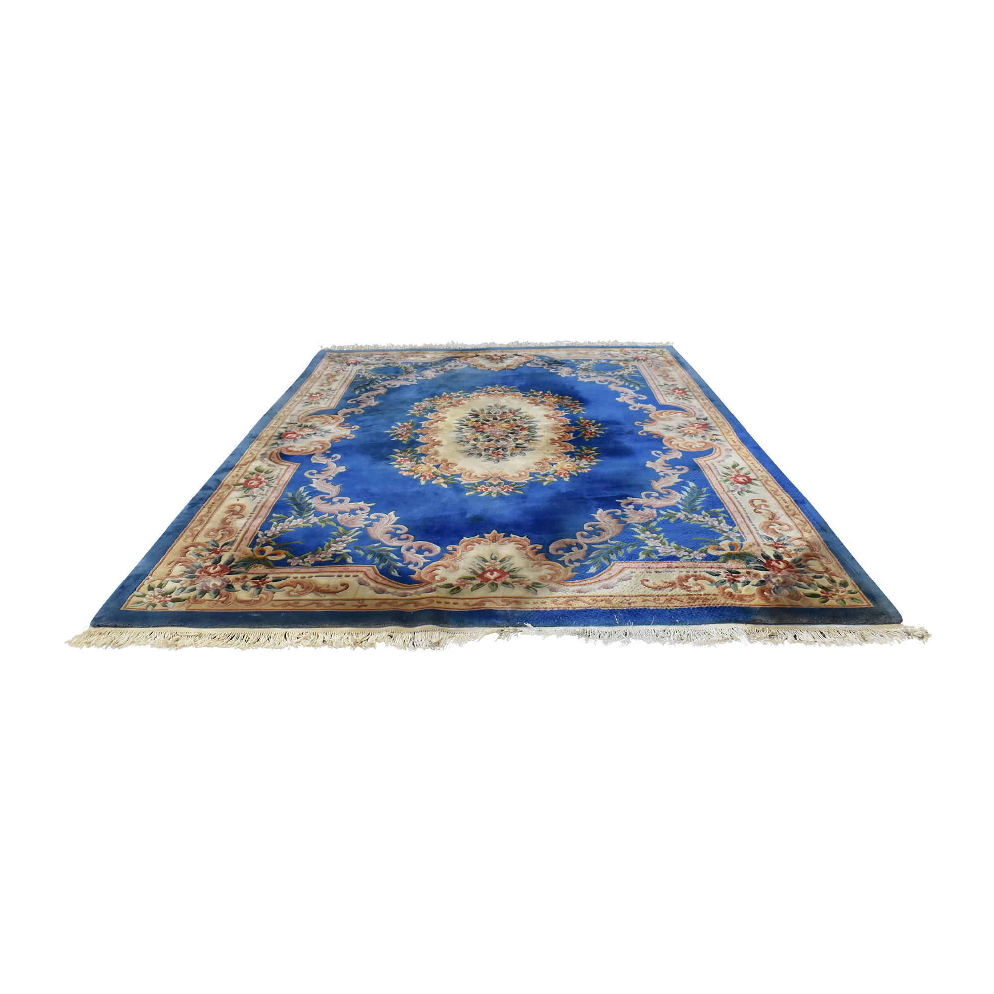 Persian Style Patterned Area Rug nyc