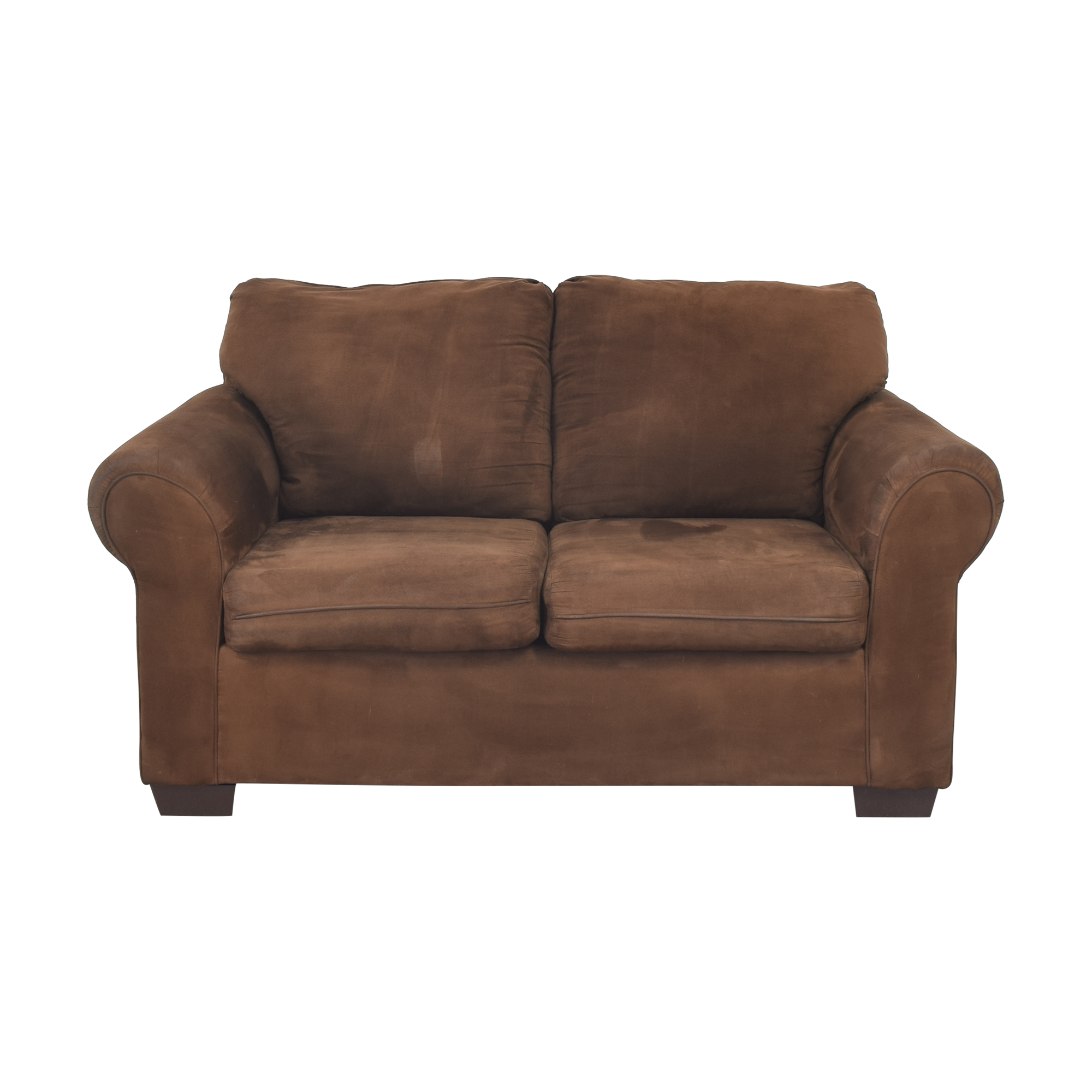 United Furniture Roll Arm Loveseat United Furniture