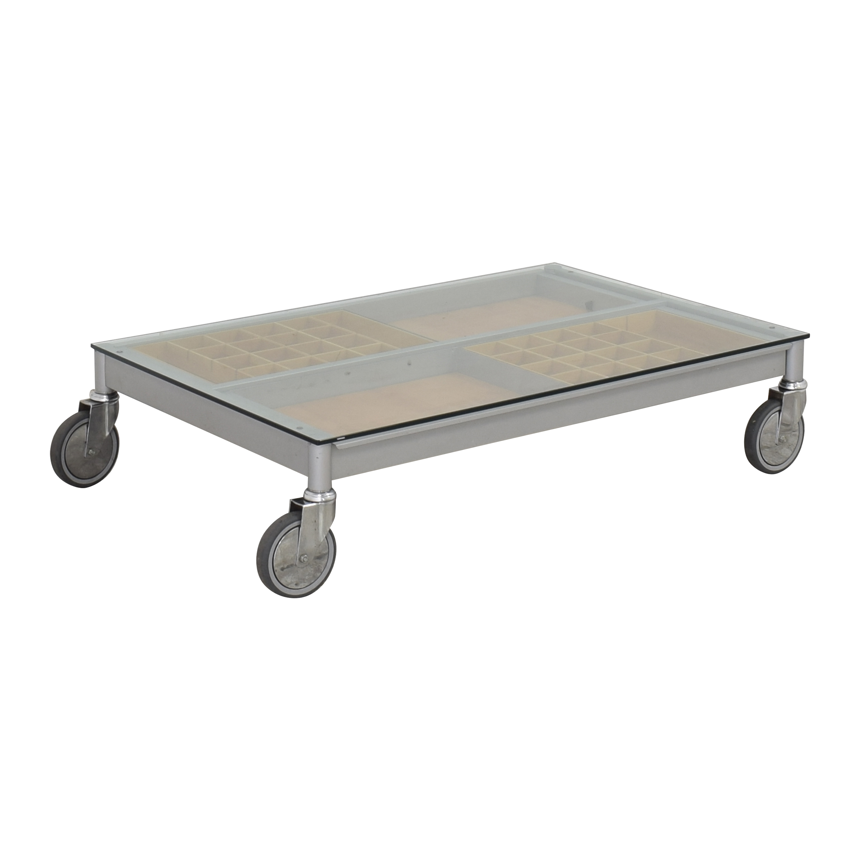 Coffee Table on Wheels Tables