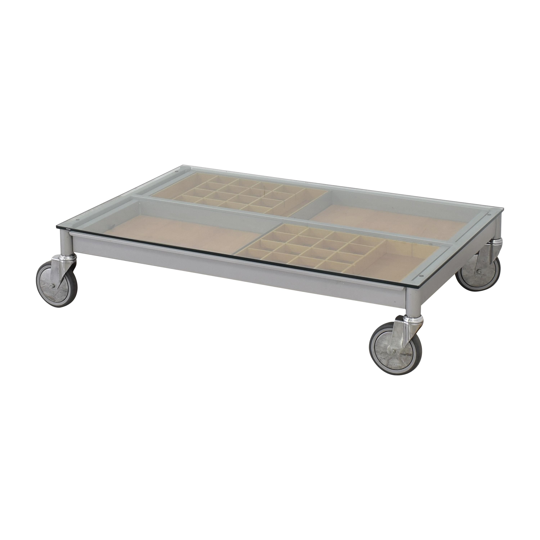Coffee Table on Wheels nyc