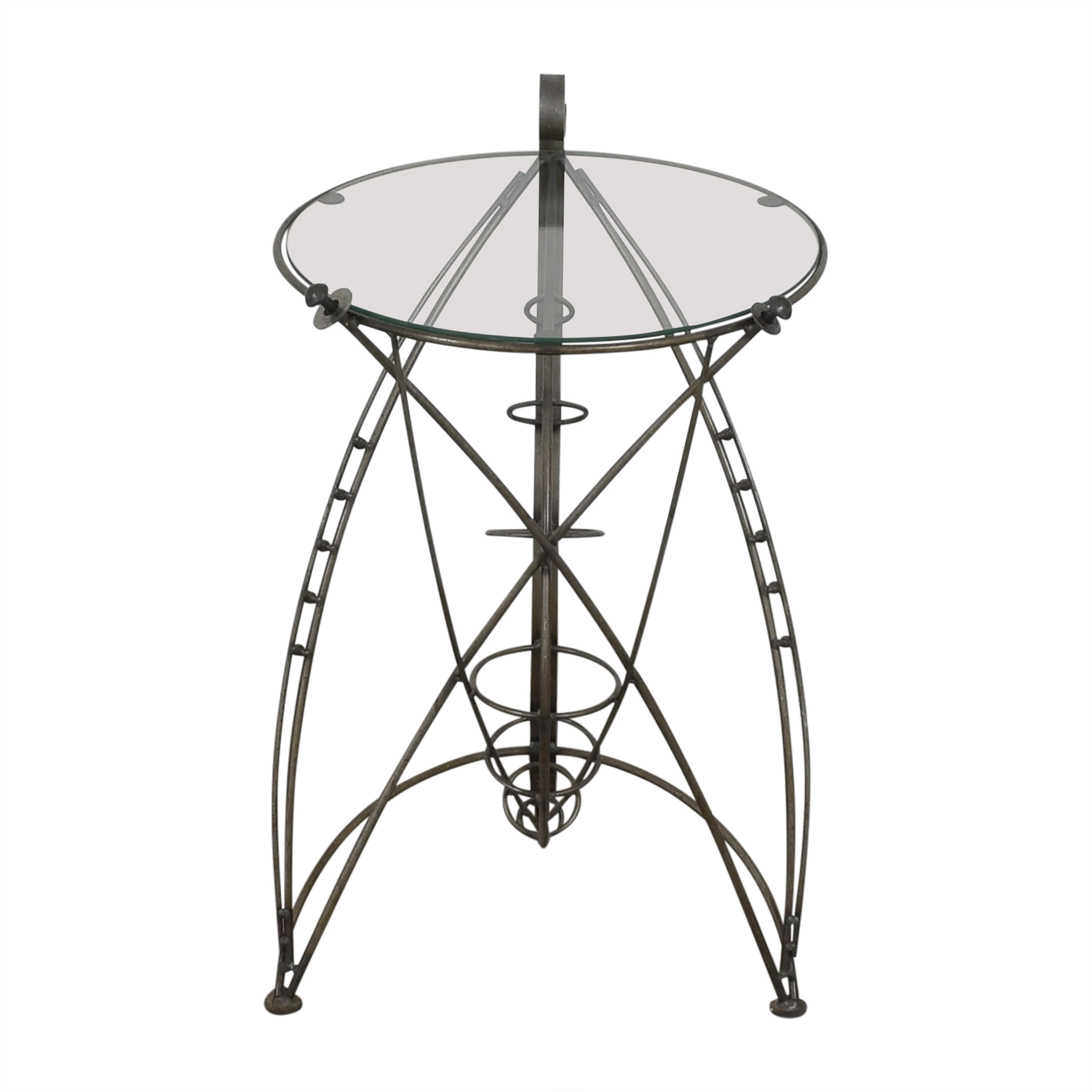 Sculptural Accent Table