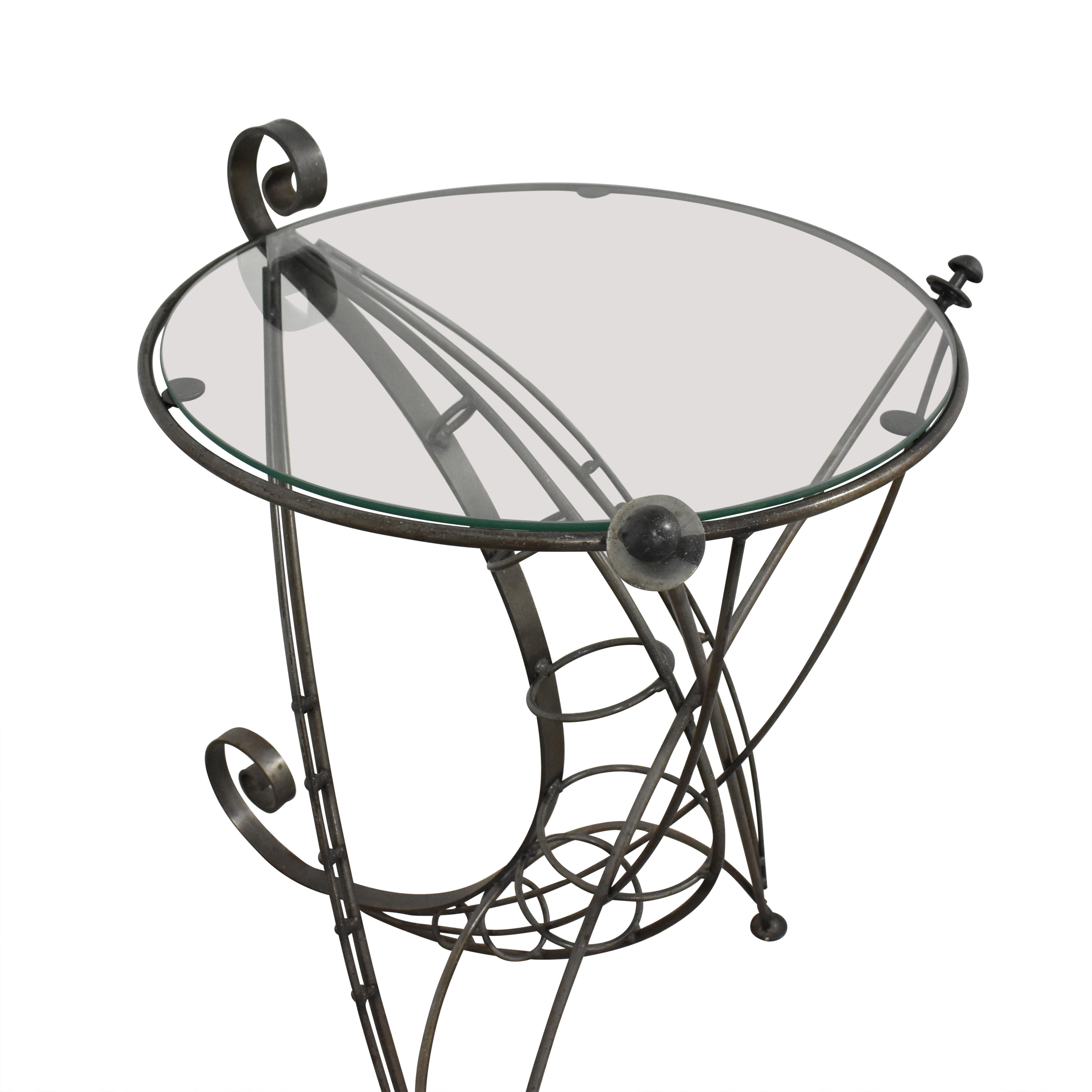 Sculptural Accent Table ct