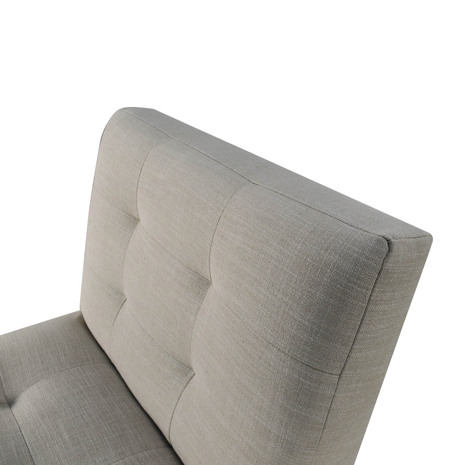 sale west elm west elm oswald tufted slipper chair discount