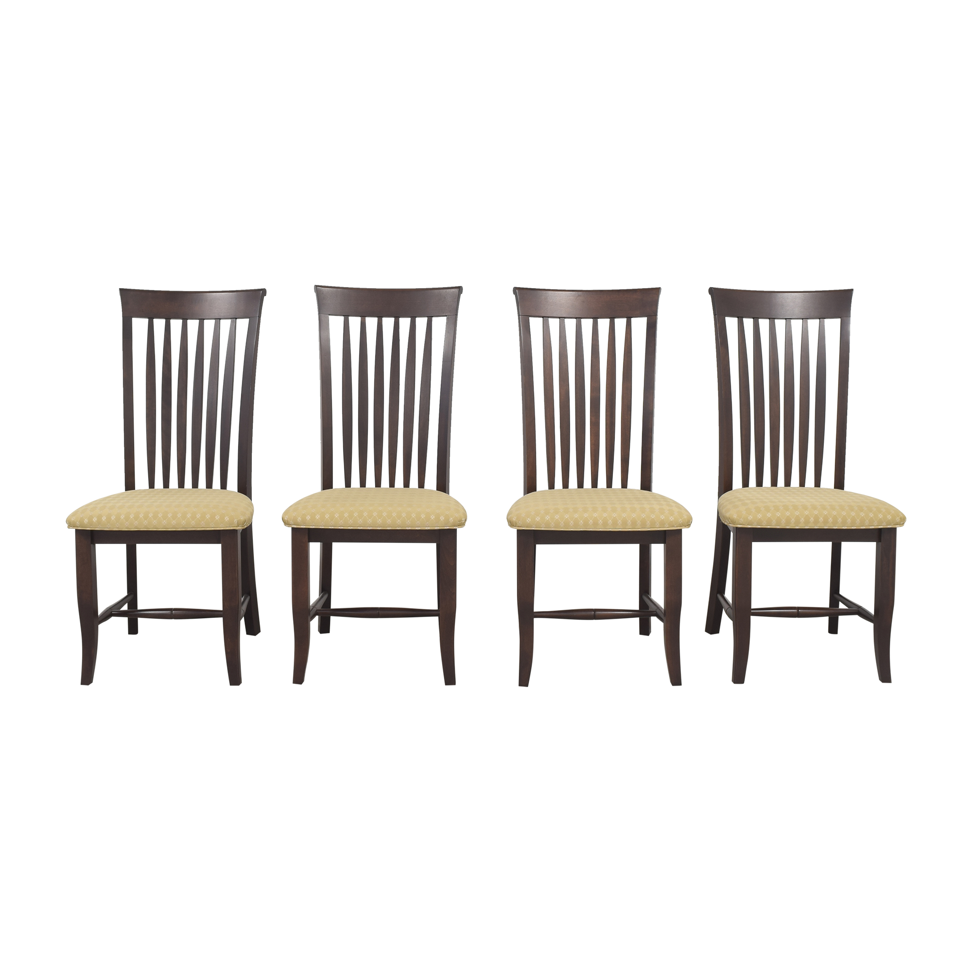 Slat Back Dining Chairs on sale