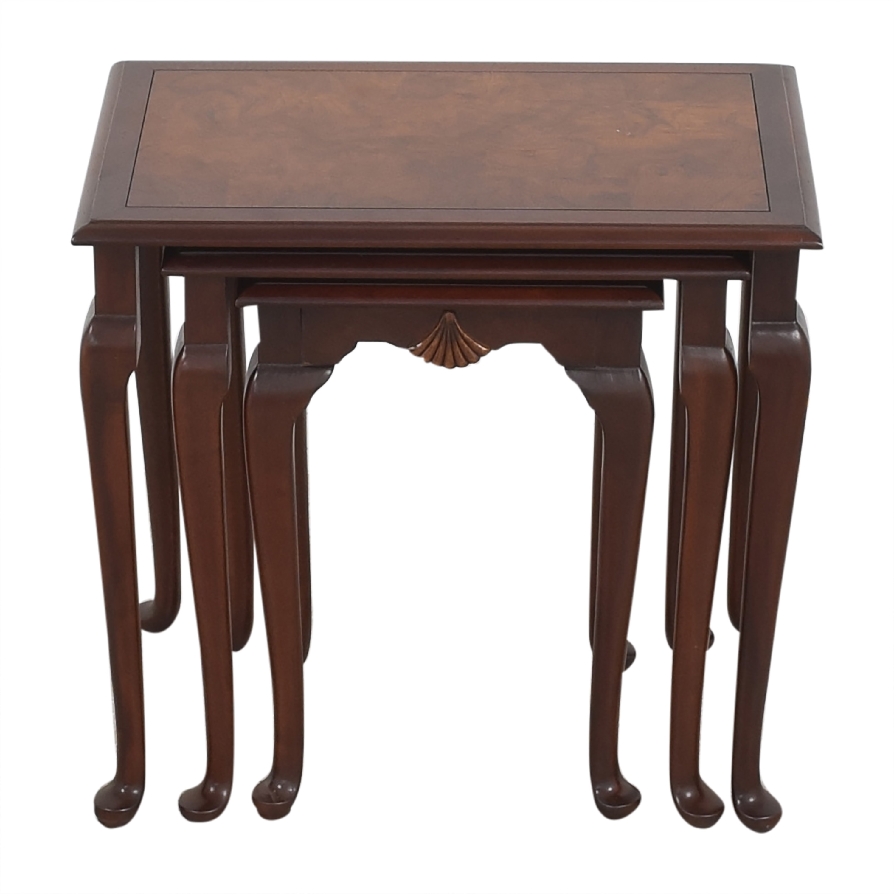 Hekman Furniture Heckman Queen Anne Style Nest of Tables coupon