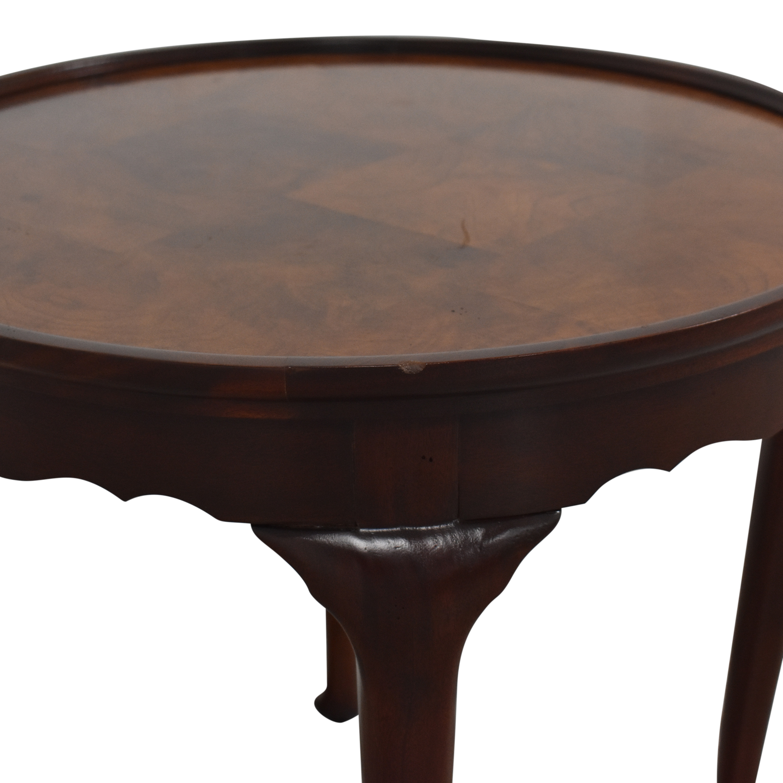 Hekman Furniture Hekman Round Lamp Table ma