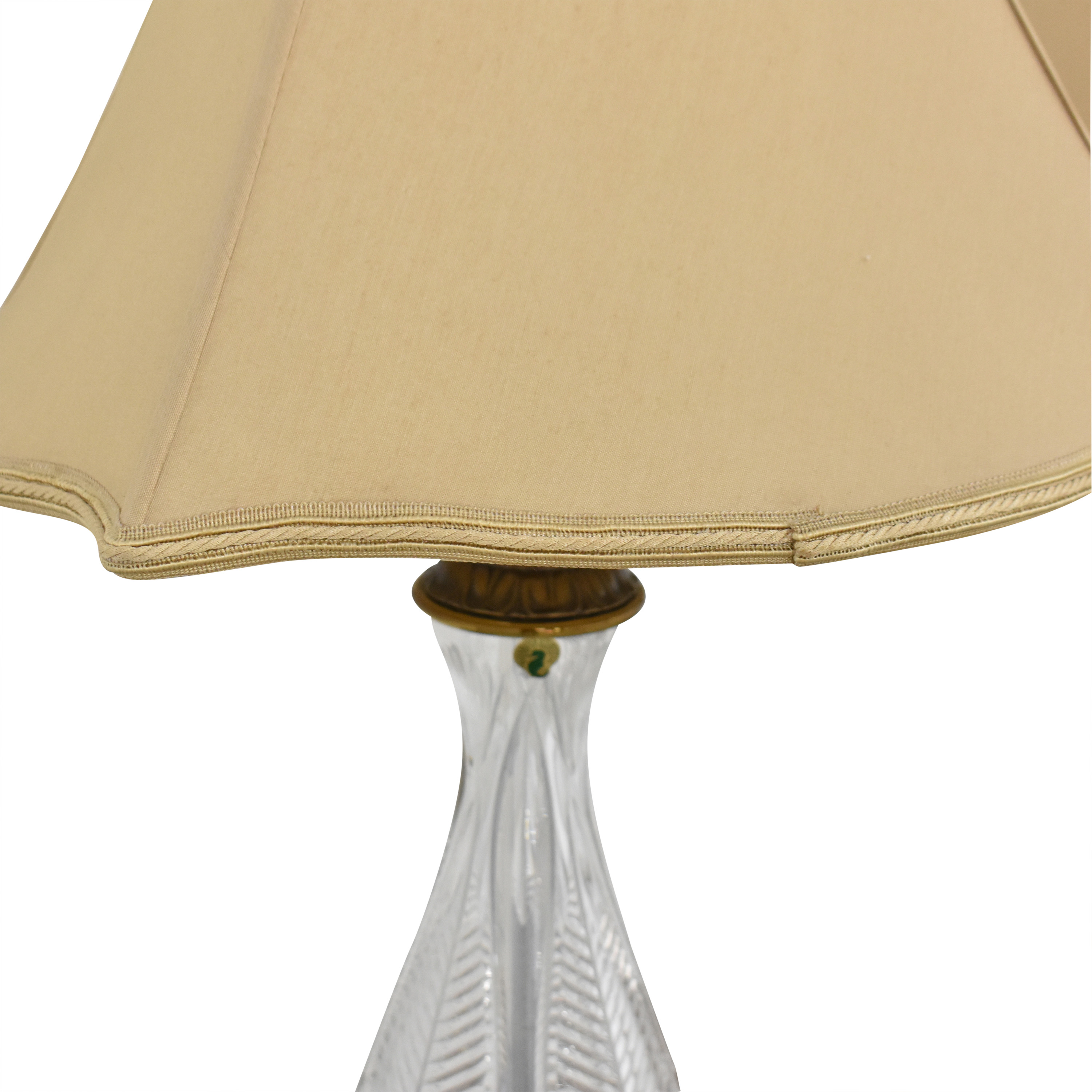 Waterford Waterford Empire Style Table Lamps ct