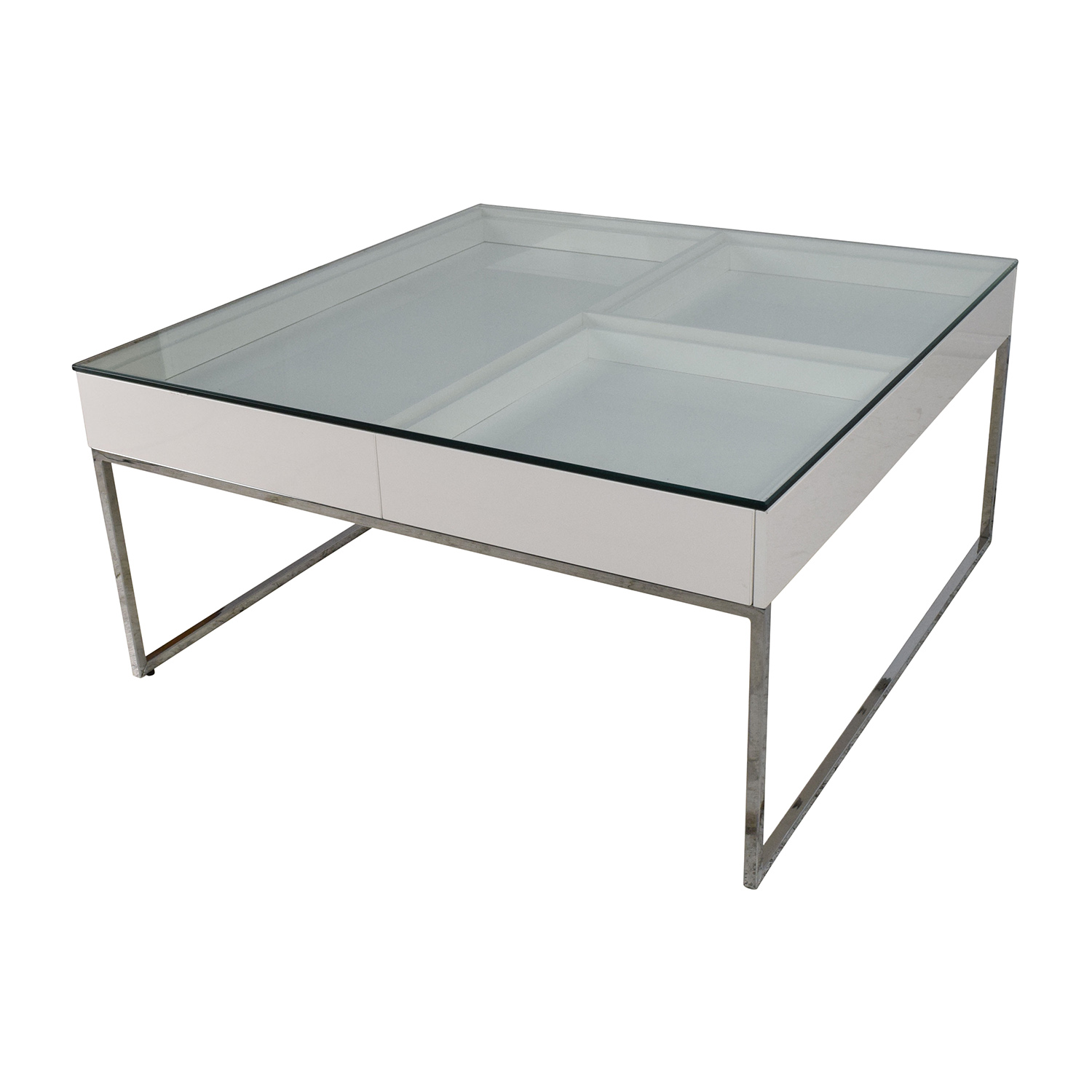 74 Off Boconcept Boconcept White Coffee Table Tables