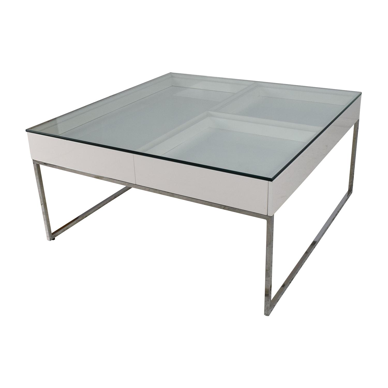 buy BoConcept BoConcept White Coffee Table online