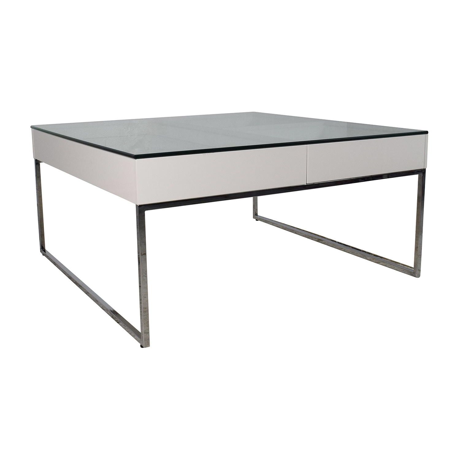 74 off boconcept boconcept white coffee table tables. Black Bedroom Furniture Sets. Home Design Ideas